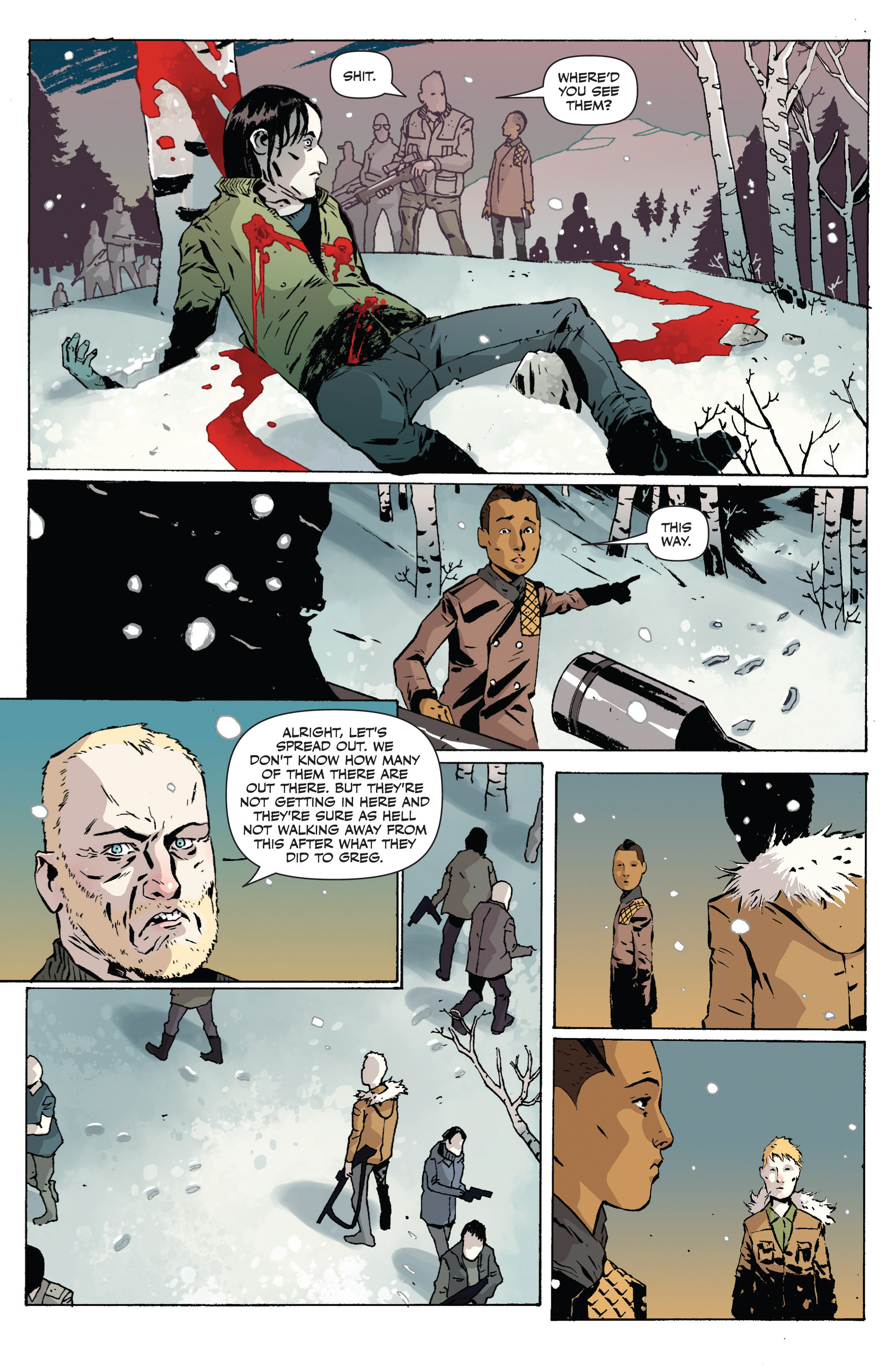 Read online Sheltered comic -  Issue #1 - 17