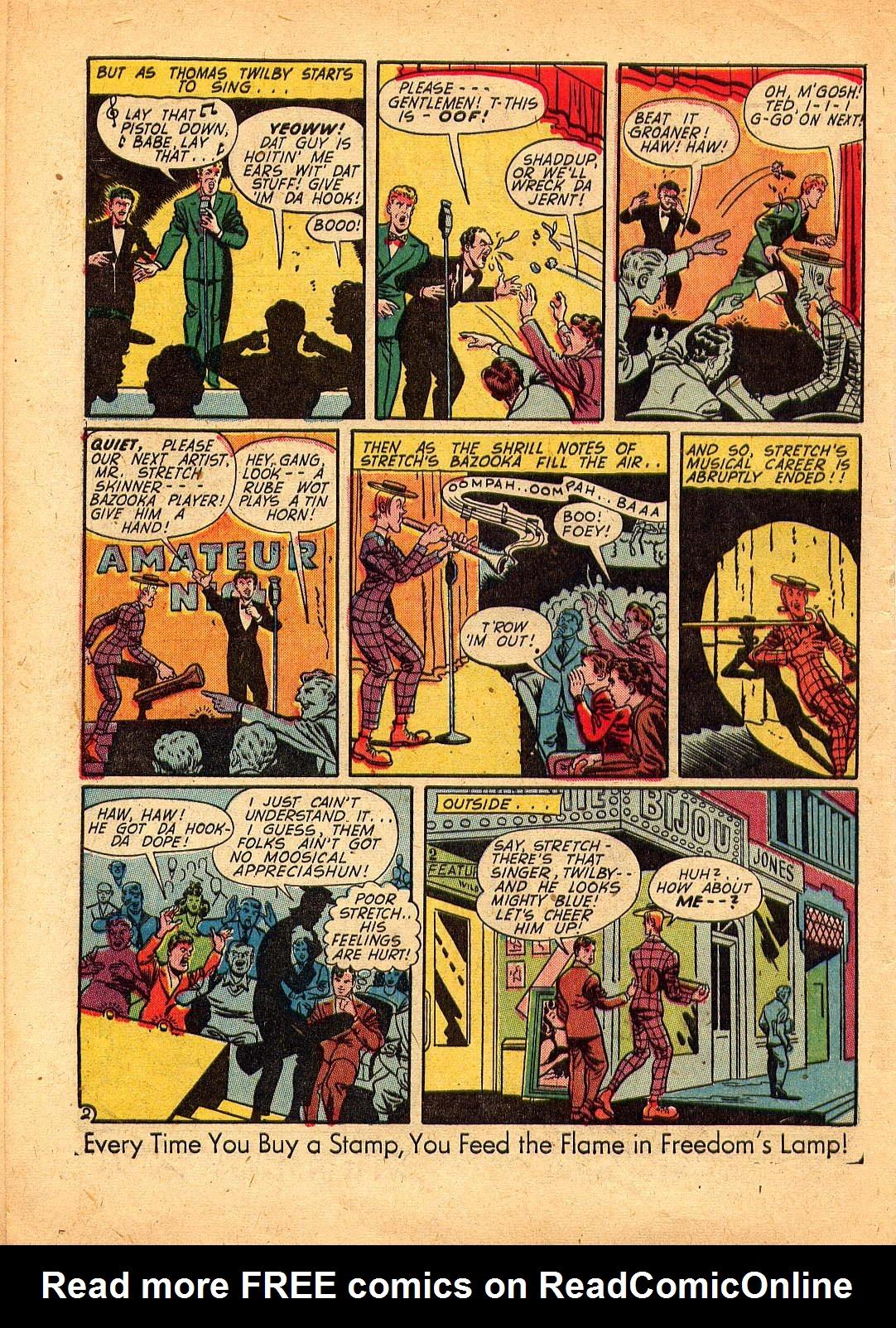Read online Sensation (Mystery) Comics comic -  Issue #30 - 50
