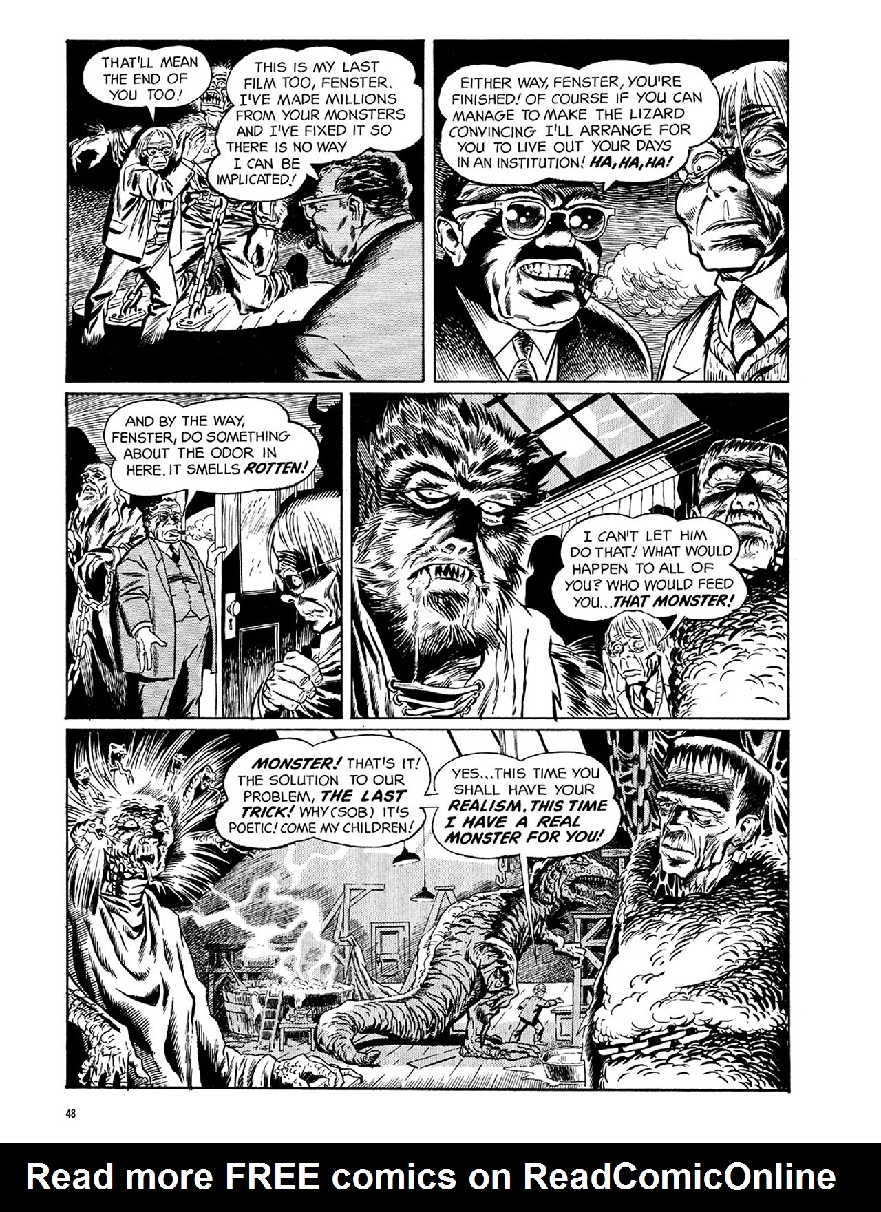 Read online Eerie Archives comic -  Issue # TPB 3 - 49
