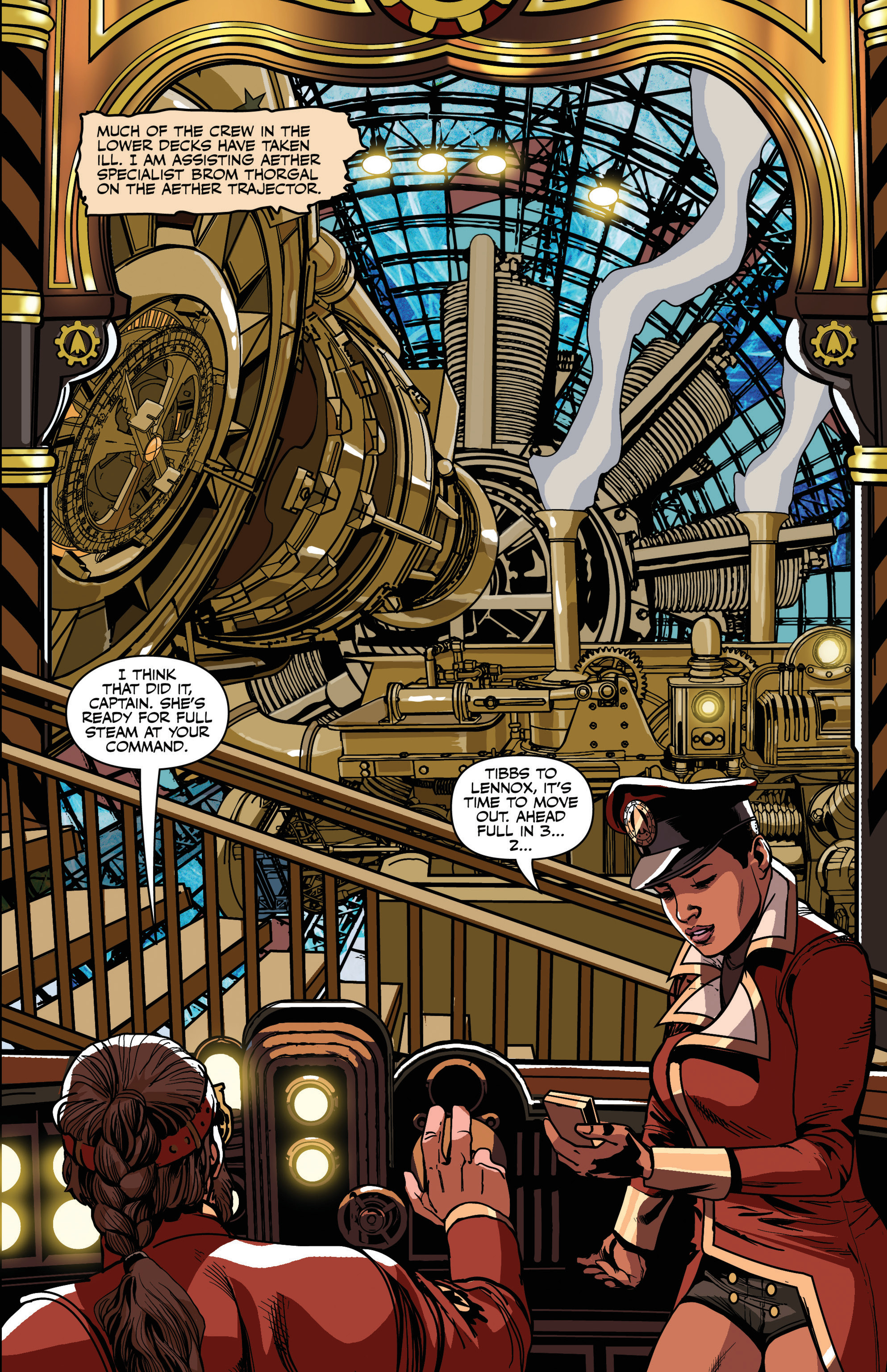 Read online Airship Enterprise: The Infernal Machine comic -  Issue #3 - 7