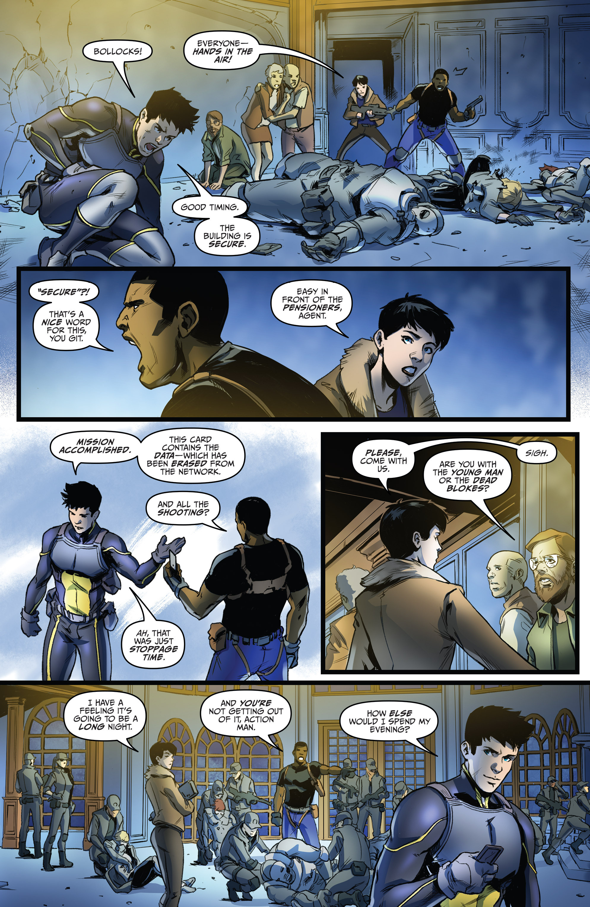 Read online Action Man comic -  Issue #2 - 10