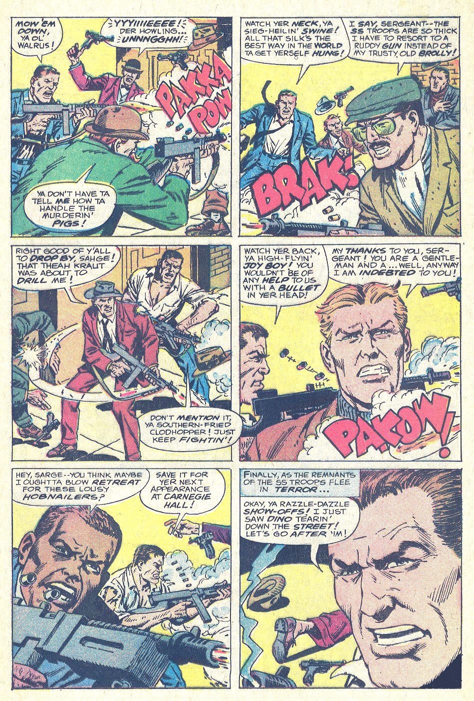 Read online Sgt. Fury comic -  Issue #146 - 28