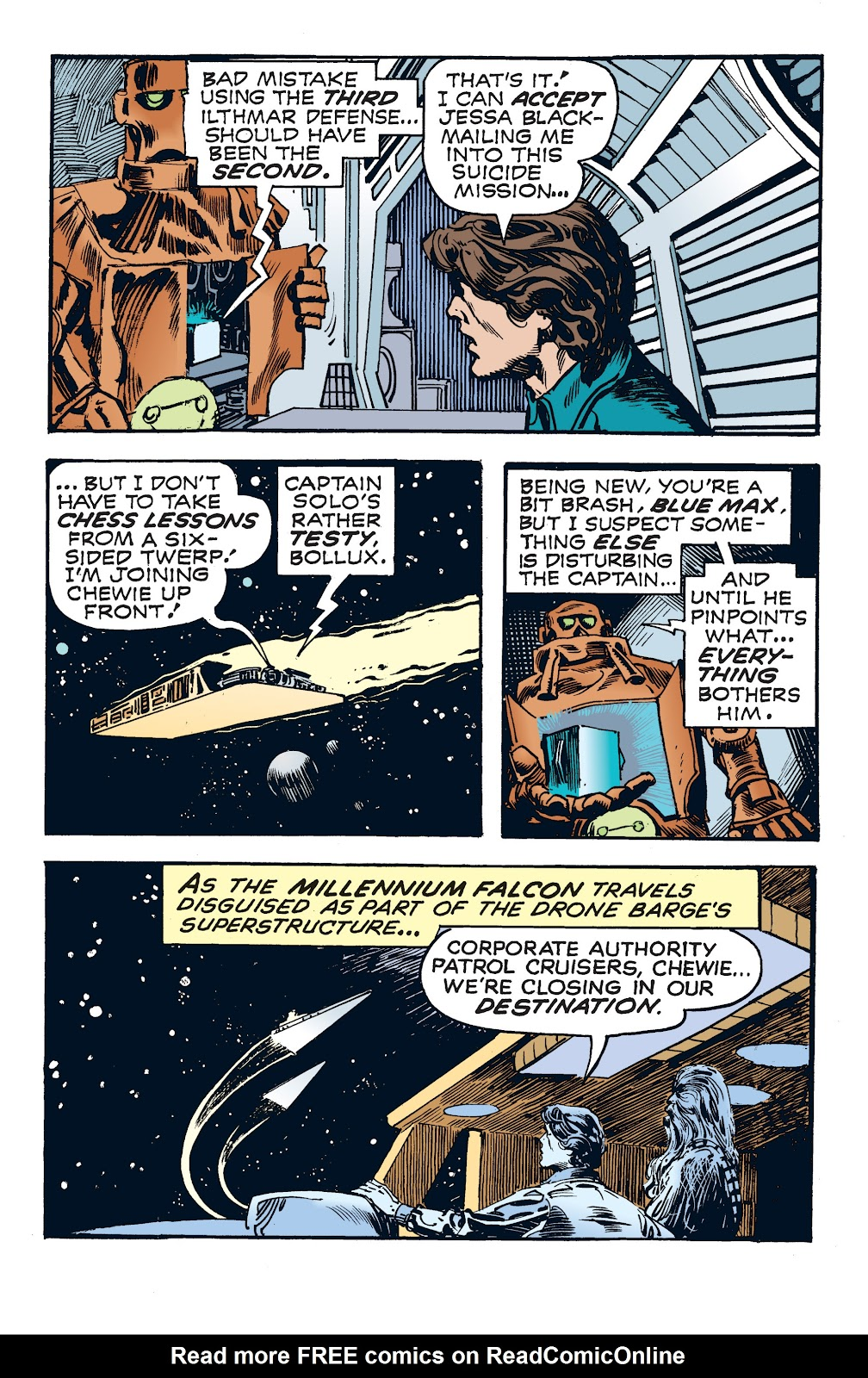 Read online Star Wars Legends: The Newspaper Strips - Epic Collection comic -  Issue # TPB (Part 4) - 20