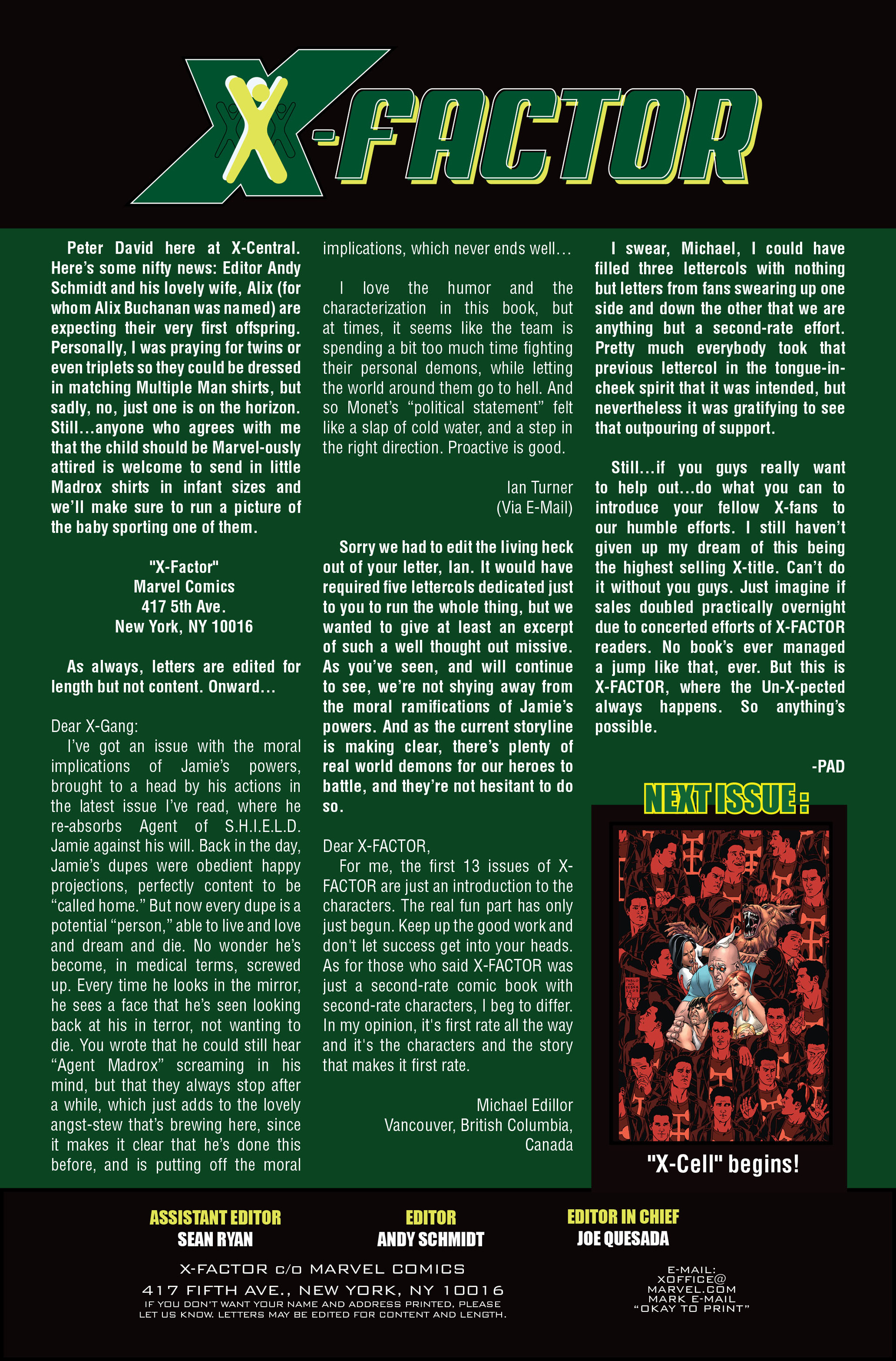 Read online X-Factor (2006) comic -  Issue #17 - 25