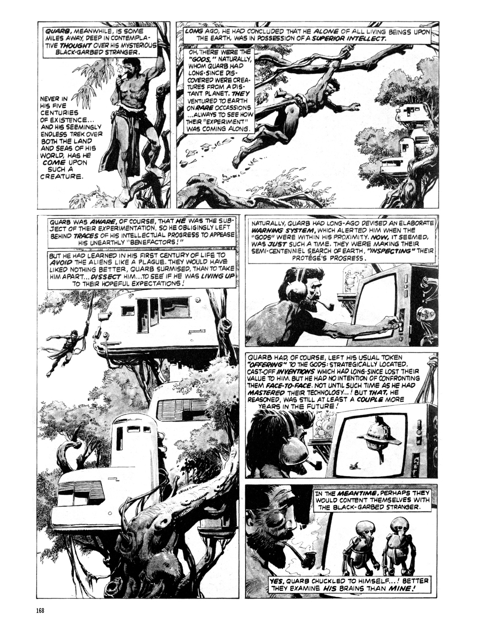 Read online Eerie Archives comic -  Issue # TPB 20 - 168
