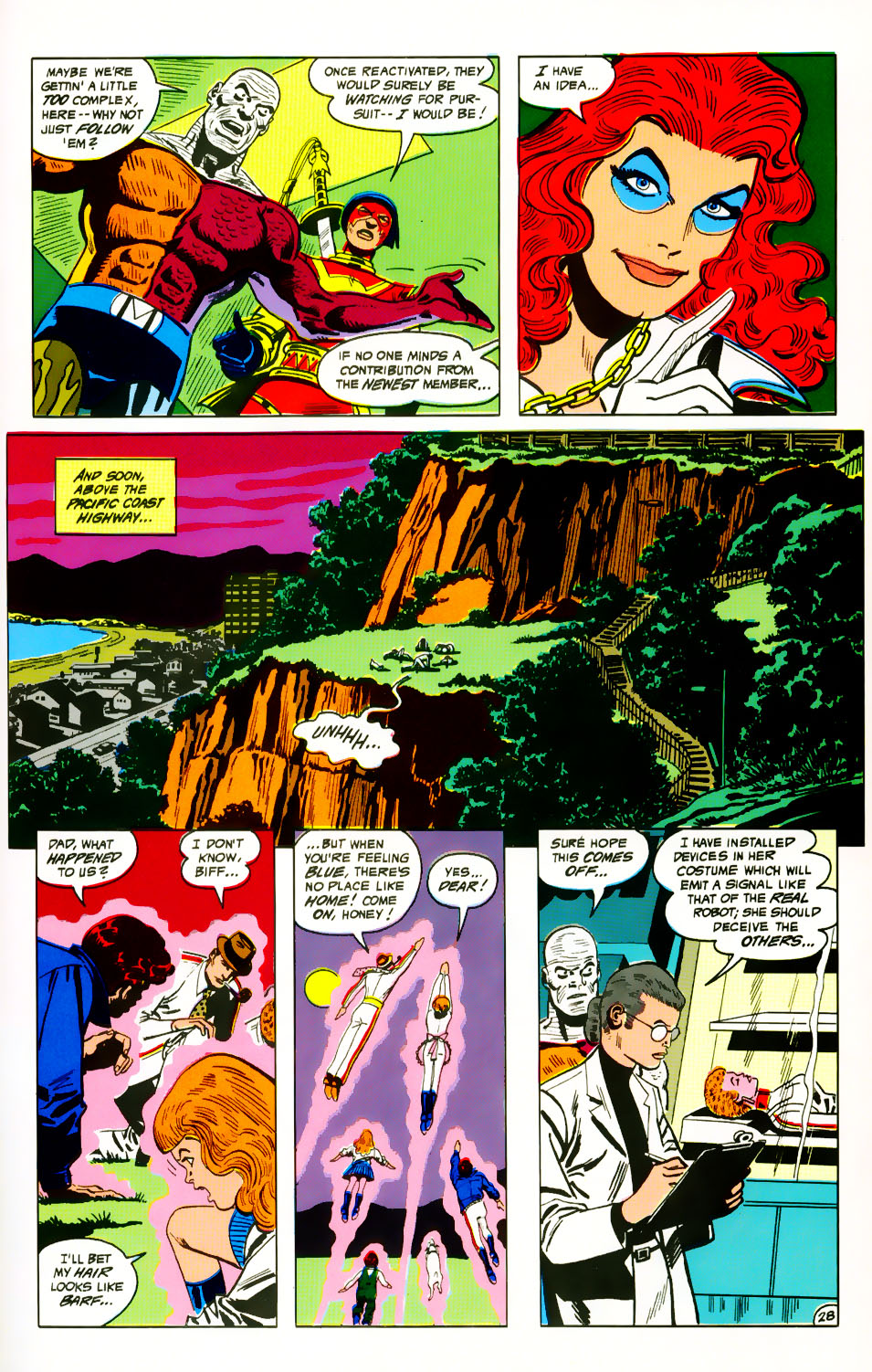 Read online Adventures of the Outsiders comic -  Issue #39 - 29