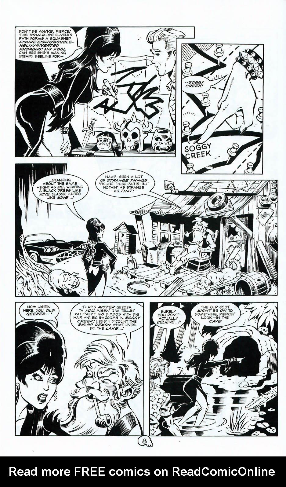 Read online Elvira, Mistress of the Dark comic -  Issue #117 - 10