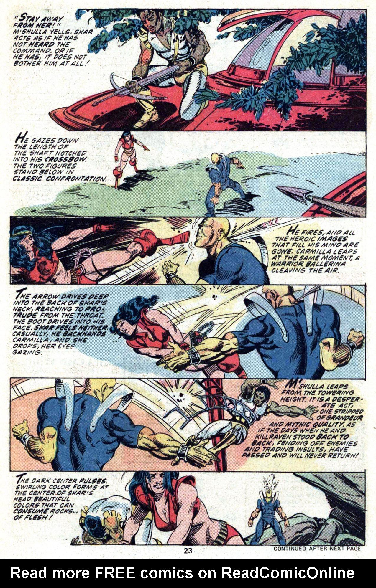 Read online Amazing Adventures (1970) comic -  Issue #34 - 25