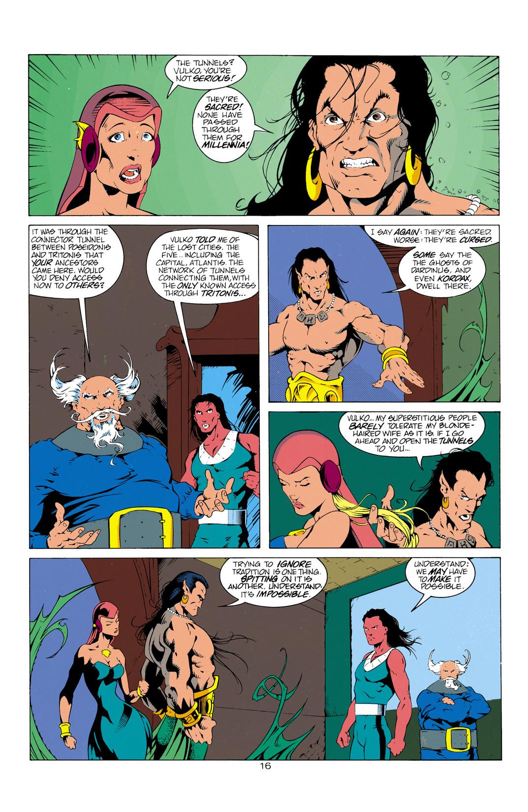 Read online Aquaman (1994) comic -  Issue #12 - 17