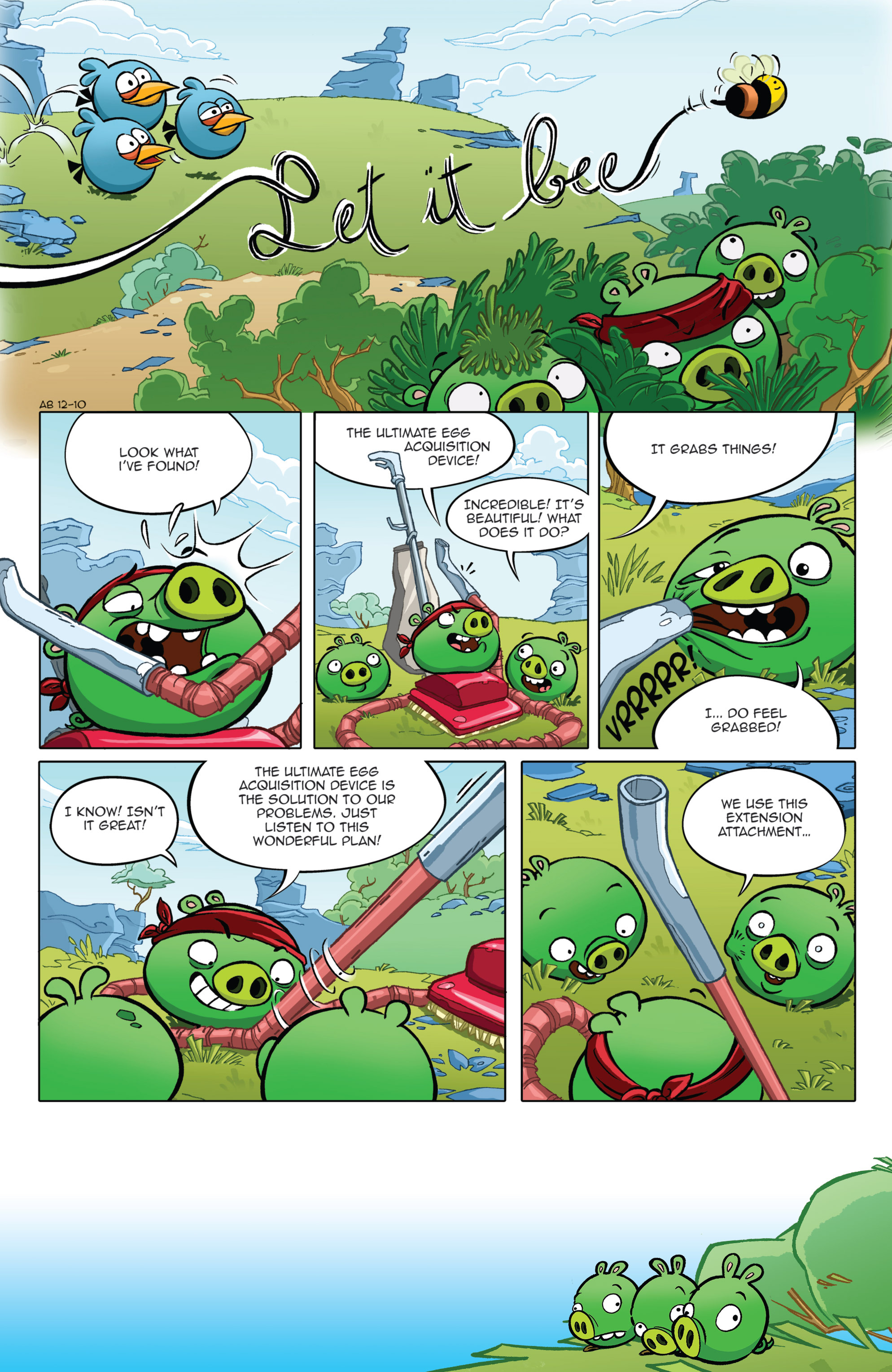 Read online Angry Birds Comics (2014) comic -  Issue #2 - 3