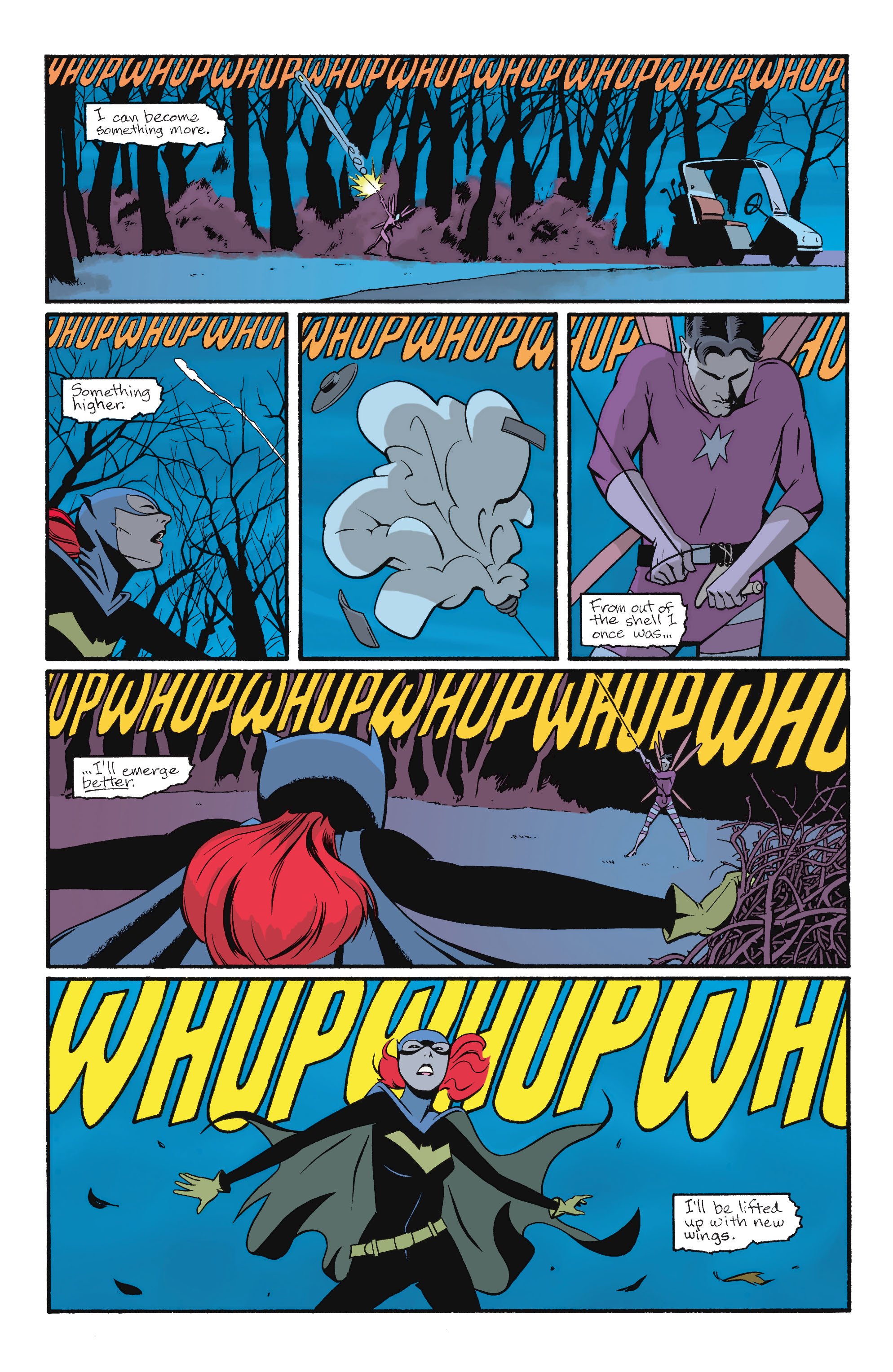 Read online Batgirl/Robin: Year One comic -  Issue # TPB 2 - 36