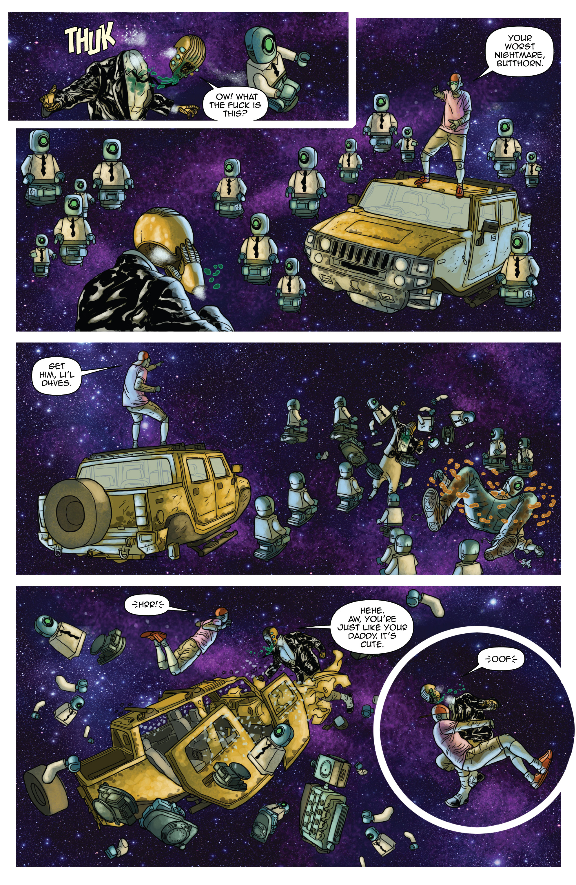 Read online D4VEocracy comic -  Issue #4 - 18