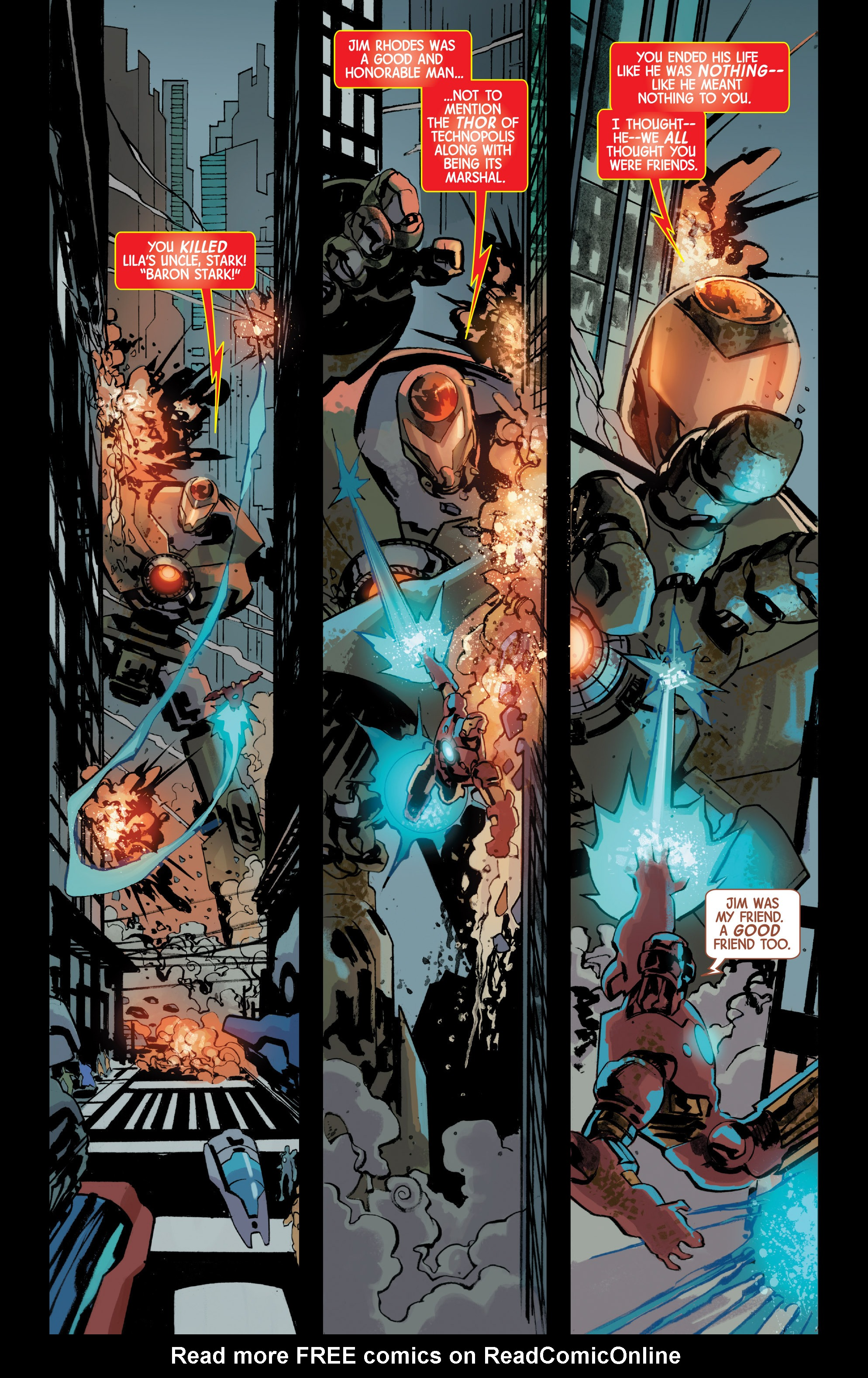 Read online Armor Wars comic -  Issue #5 - 5