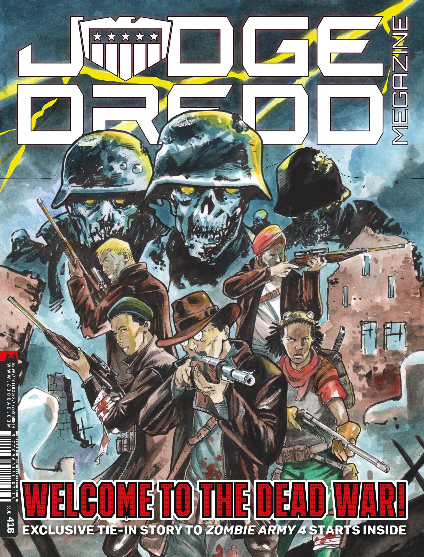 Judge Dredd Megazine (Vol. 5) 416 Page 1