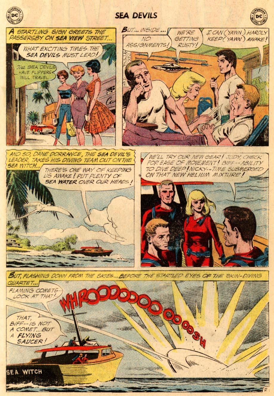 Read online Sea Devils comic -  Issue #5 - 5