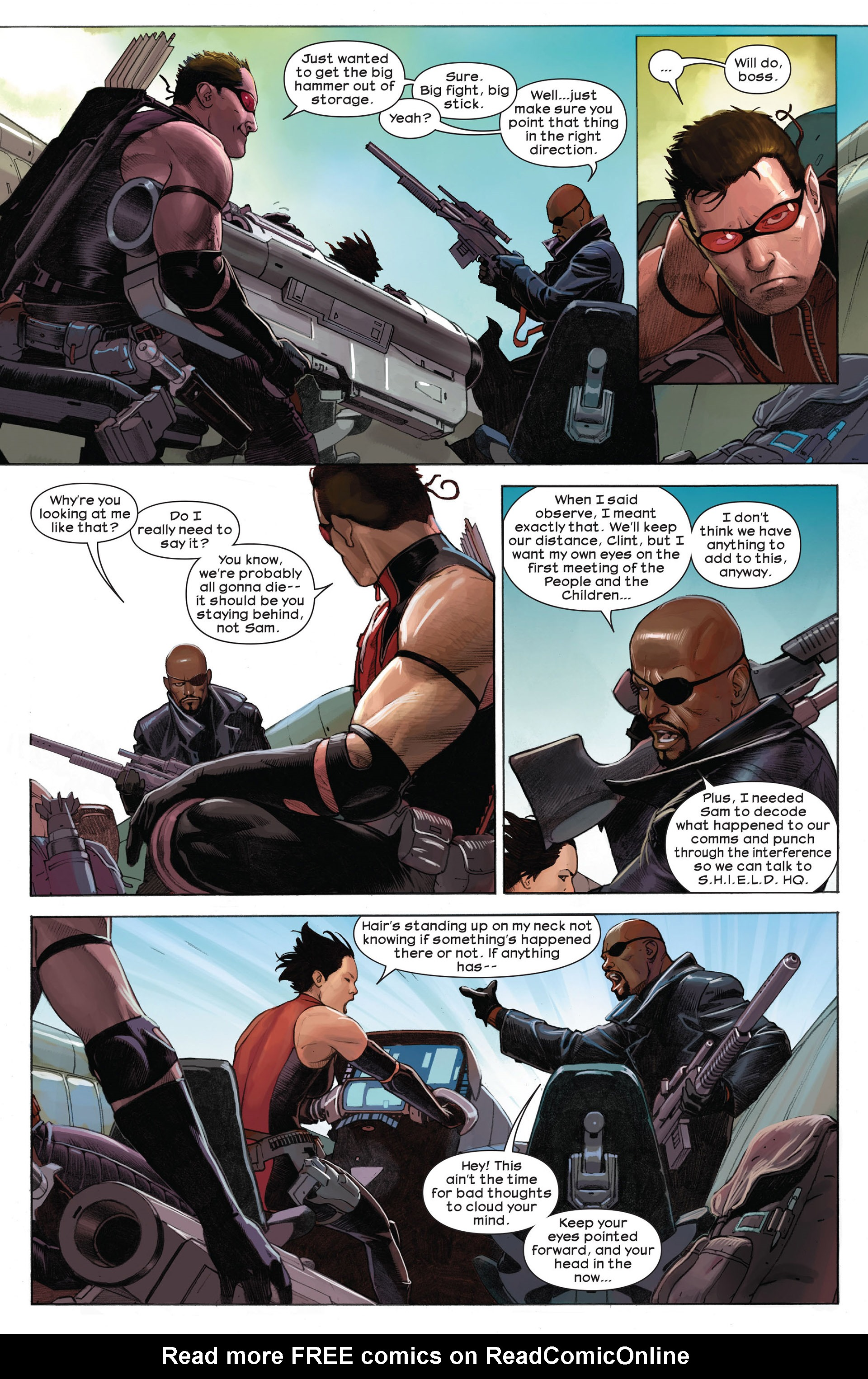 Read online Ultimate Comics Ultimates comic -  Issue #9 - 4