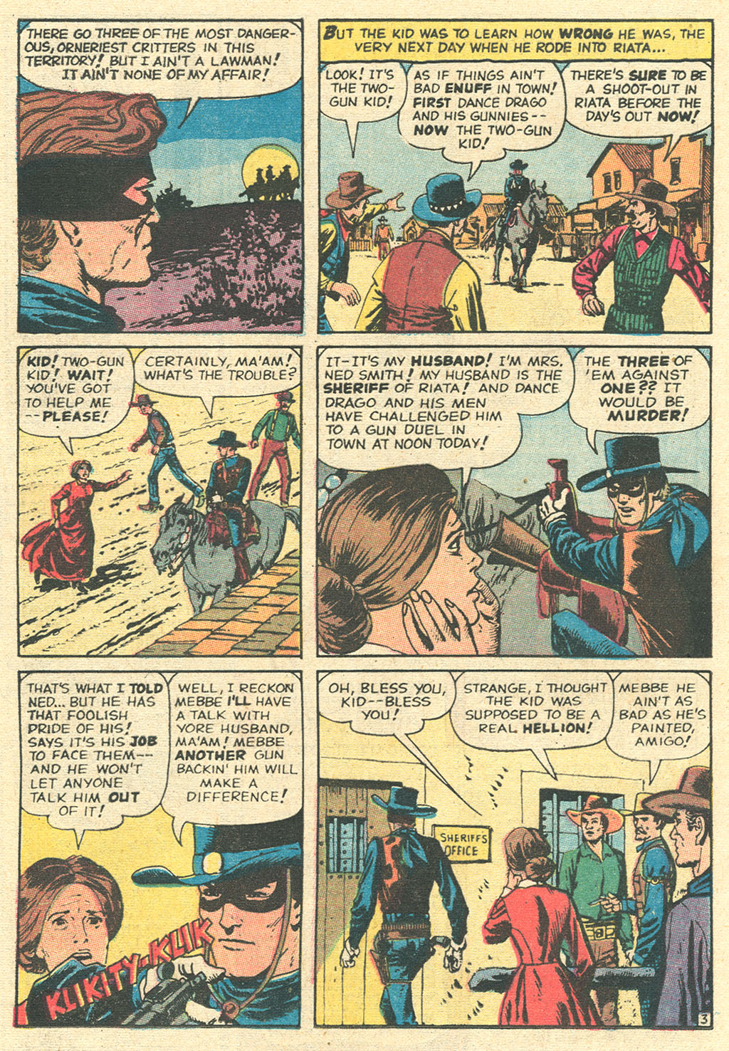 Read online Two-Gun Kid comic -  Issue #99 - 16
