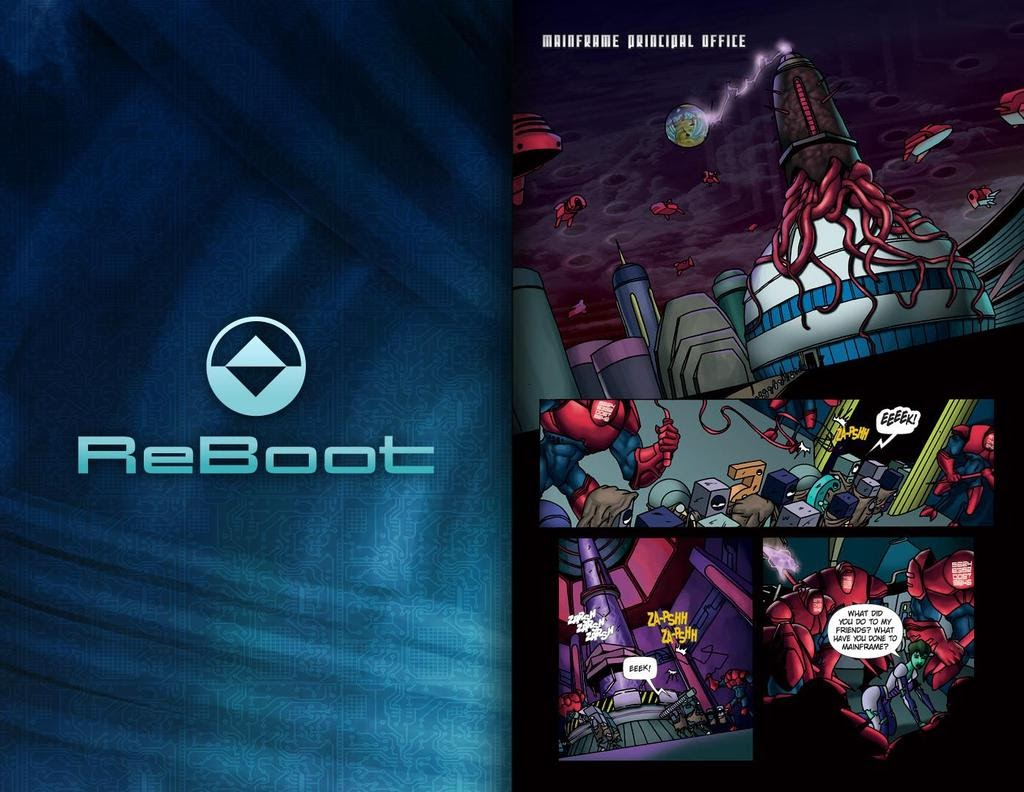Read online ReBoot: Paradigms Lost comic -  Issue # Full - 25