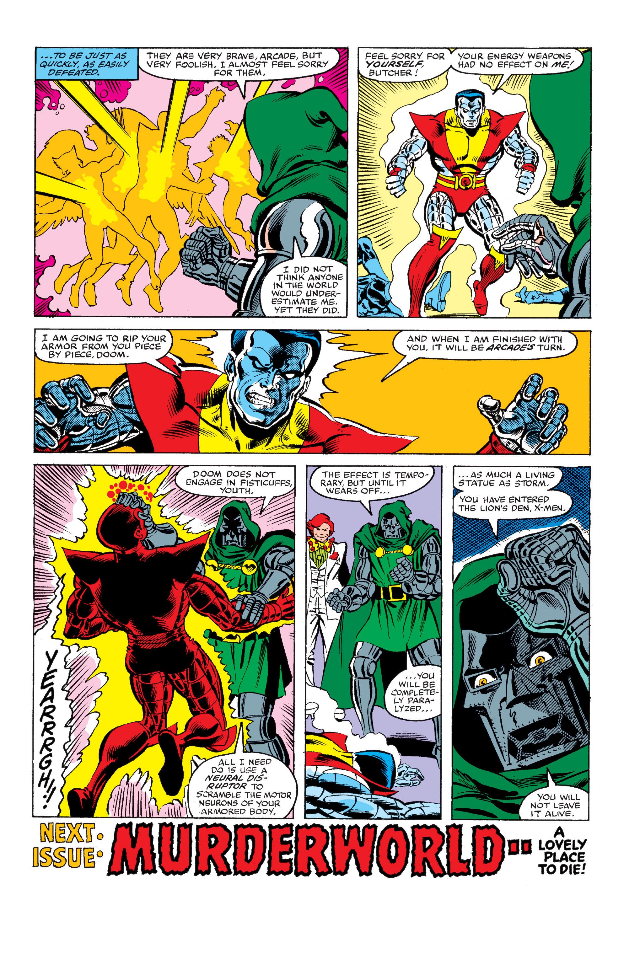 Read online Uncanny X-Men (1963) comic -  Issue #145 - 23