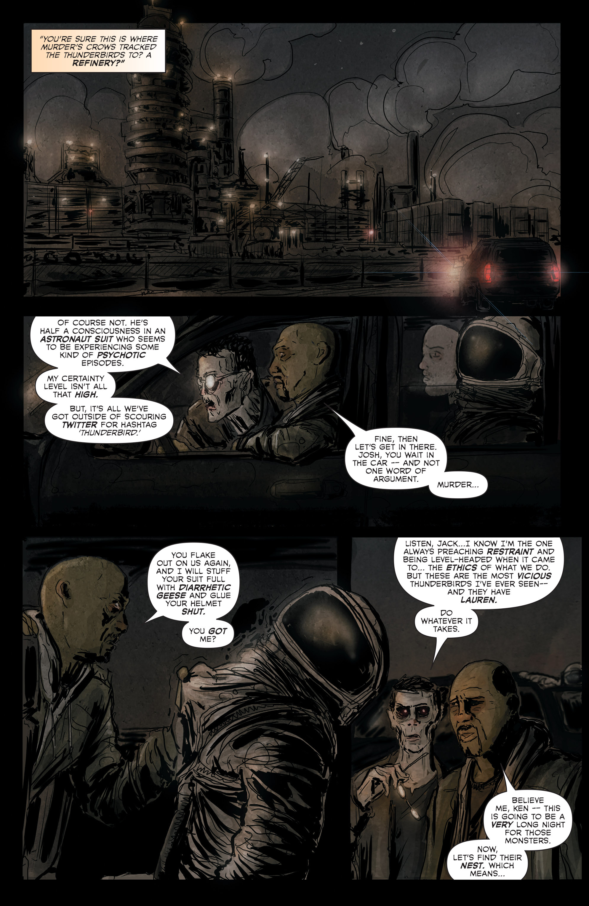 Read online Hoax Hunters (2012) comic -  Issue # TPB 3 - 41