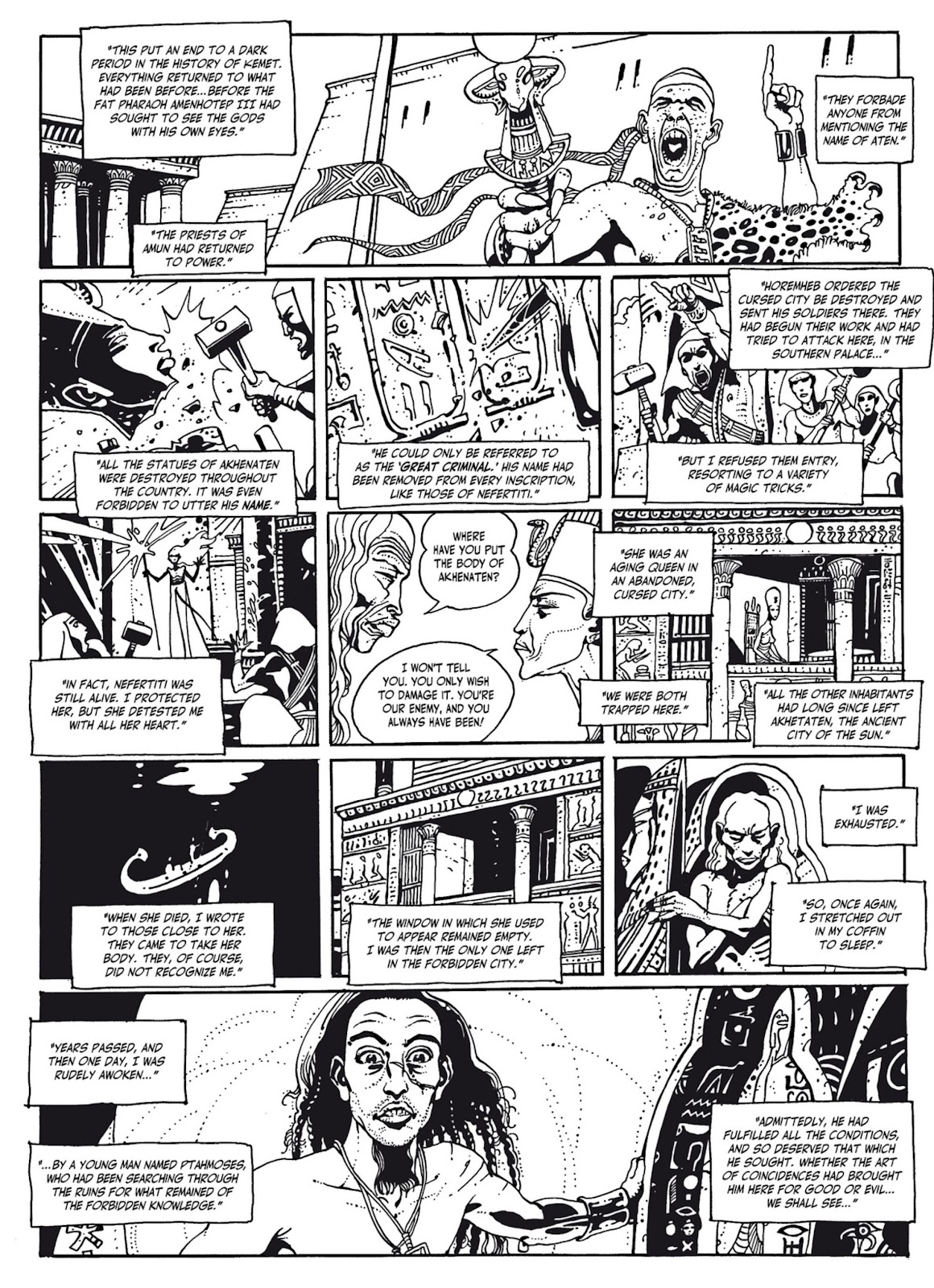 Read online The Egyptian Princesses comic -  Issue # TPB 1 (Part 3) - 6