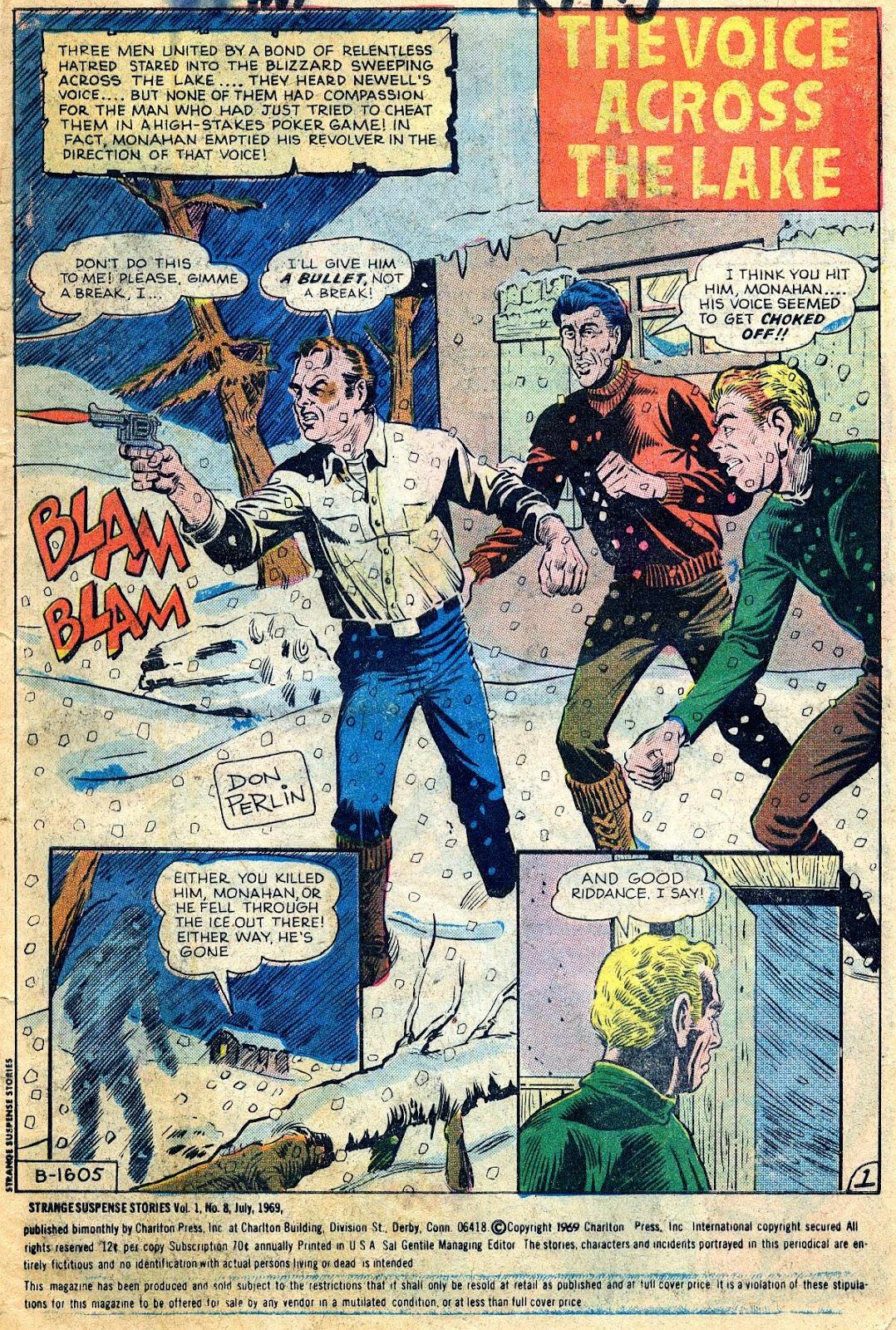 Strange Suspense Stories 8 Page 1