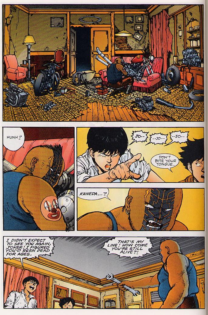 Read online Akira comic -  Issue #24 - 50
