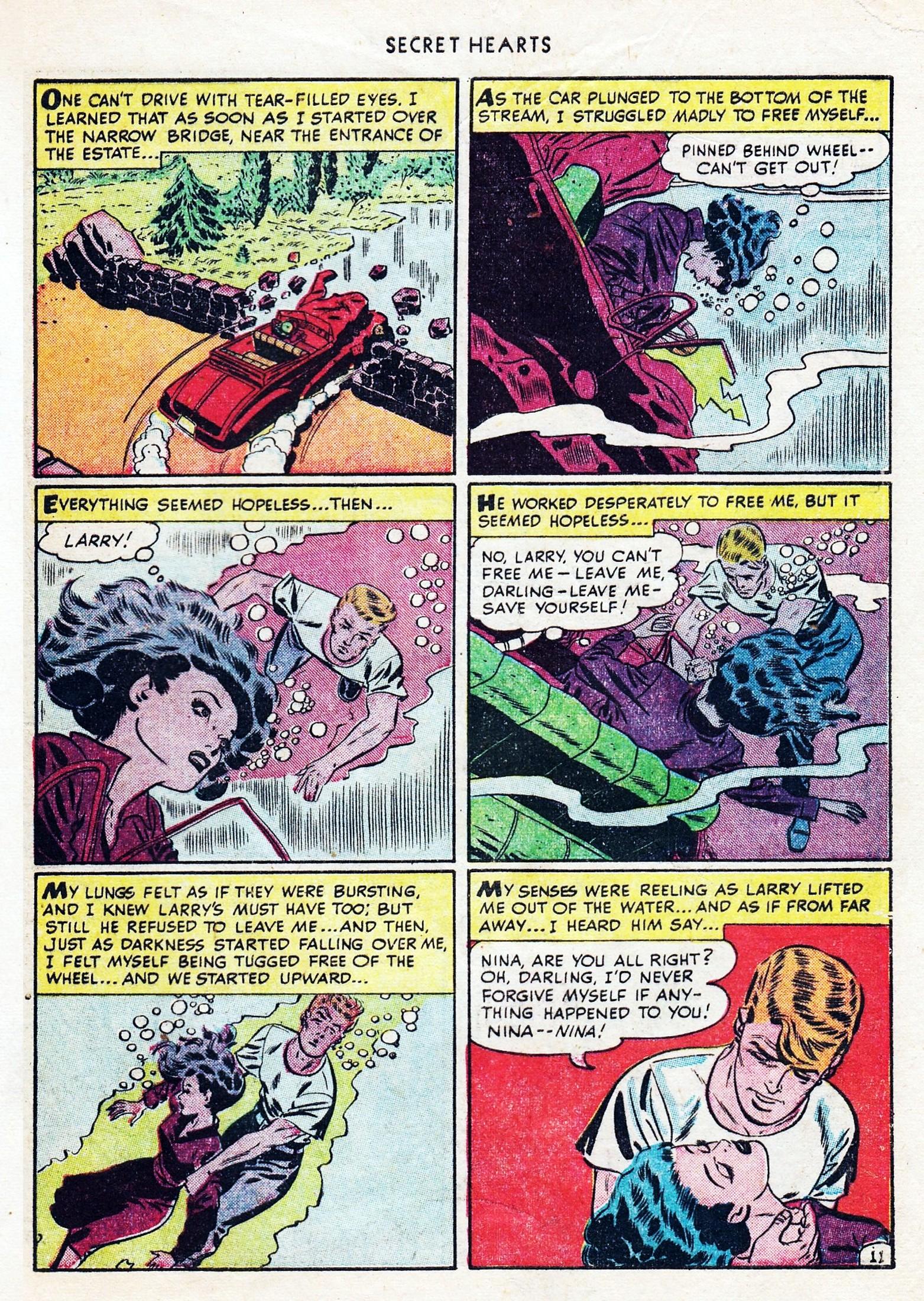 Read online Secret Hearts comic -  Issue #1 - 47