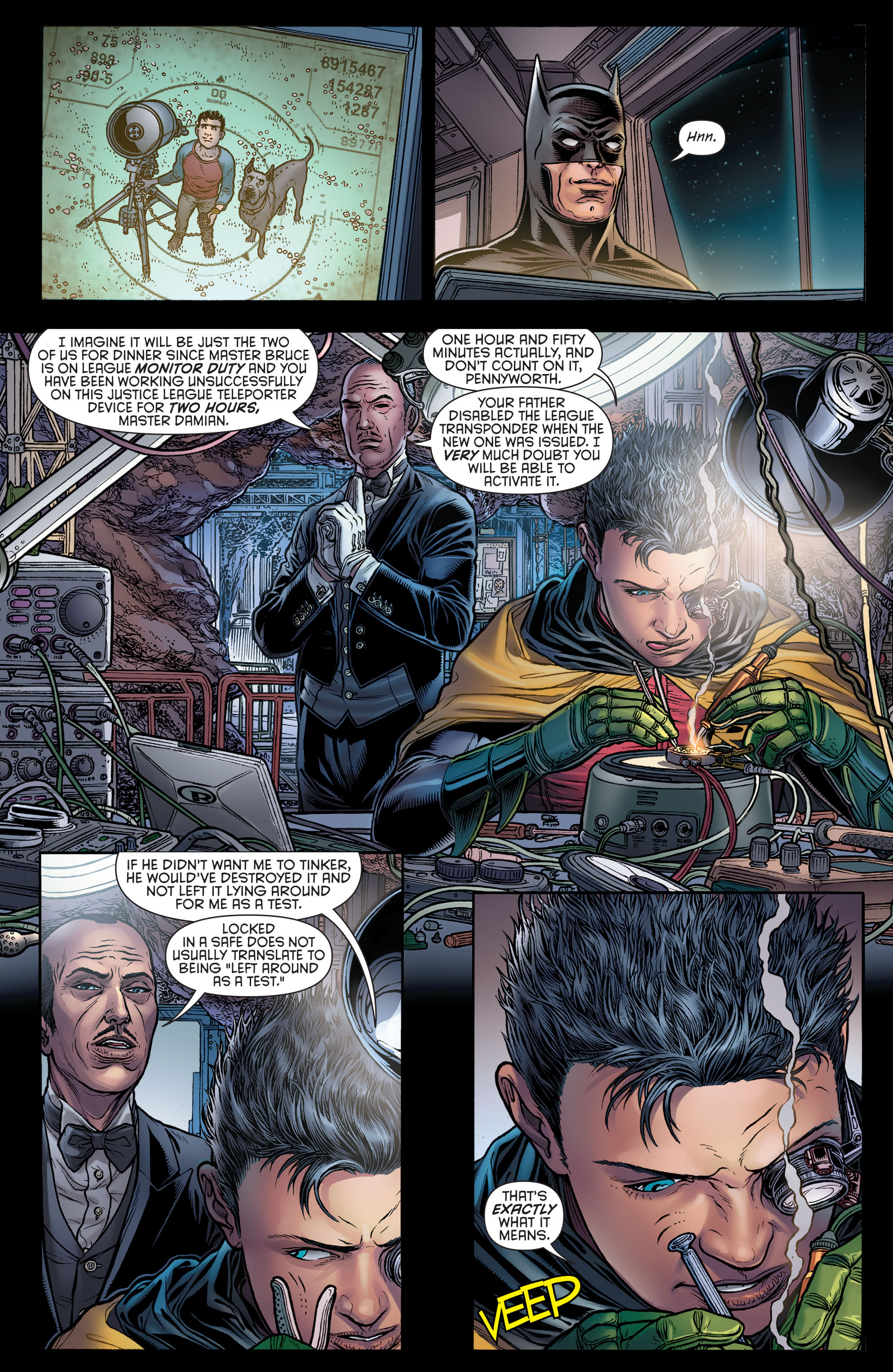 Read online Batman and Robin (2011) comic -  Issue # Annual 3 - 3