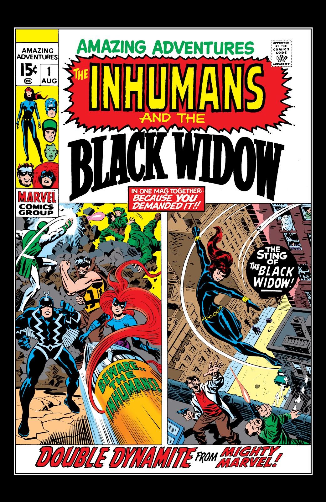 Read online Marvel Masterworks: The Inhumans comic -  Issue # TPB 1 (Part 1) - 69