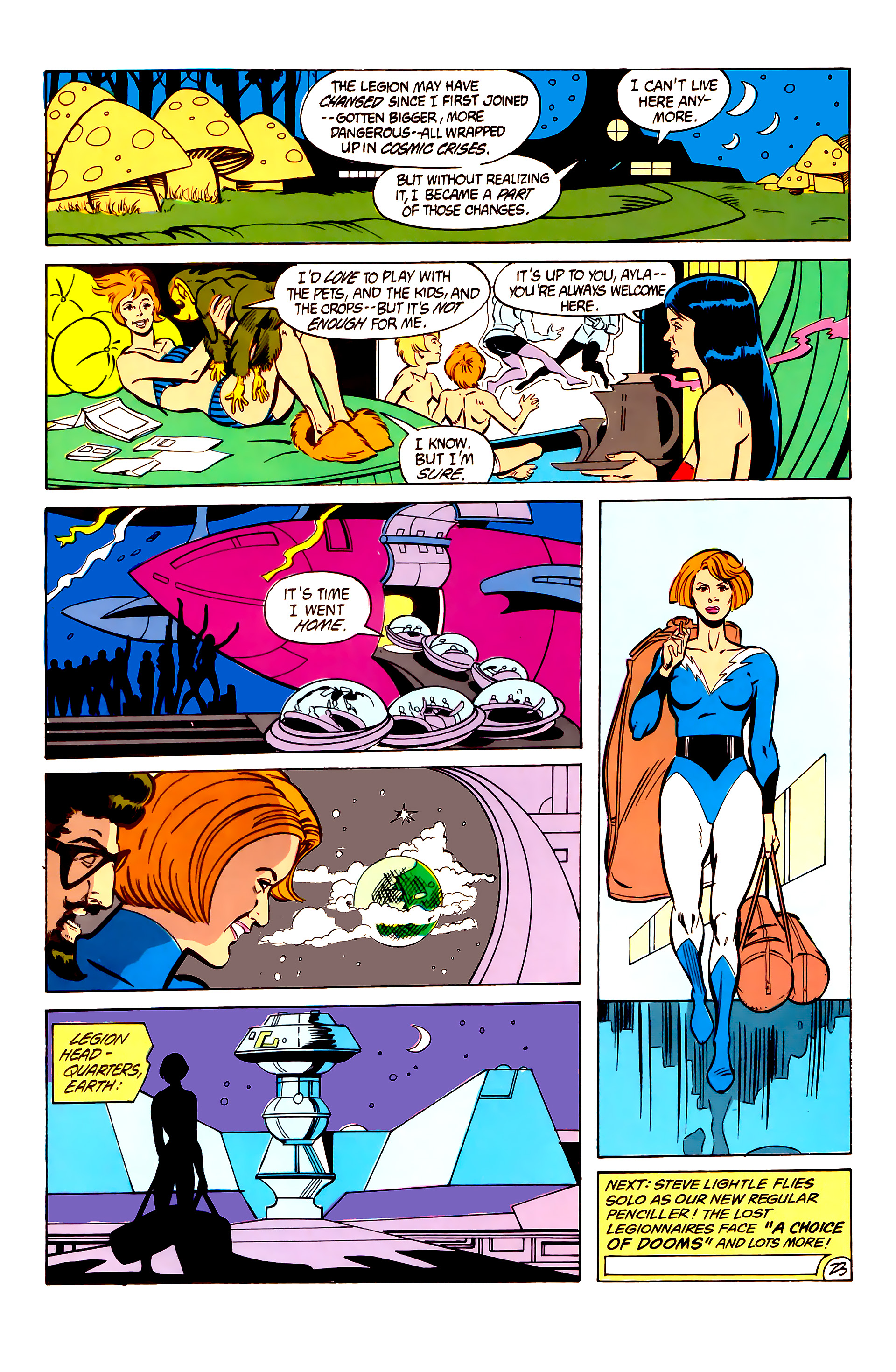 Legion of Super-Heroes (1984) 6 Page 23