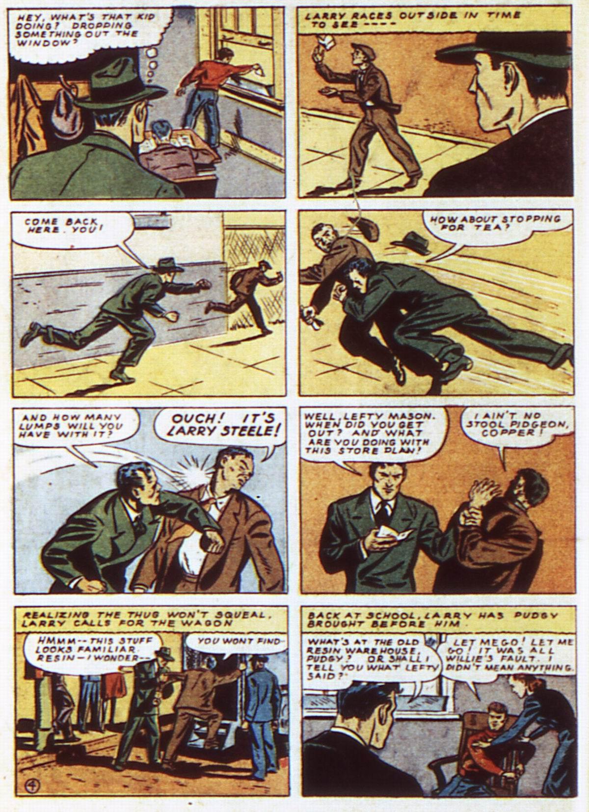 Read online Detective Comics (1937) comic -  Issue #52 - 34