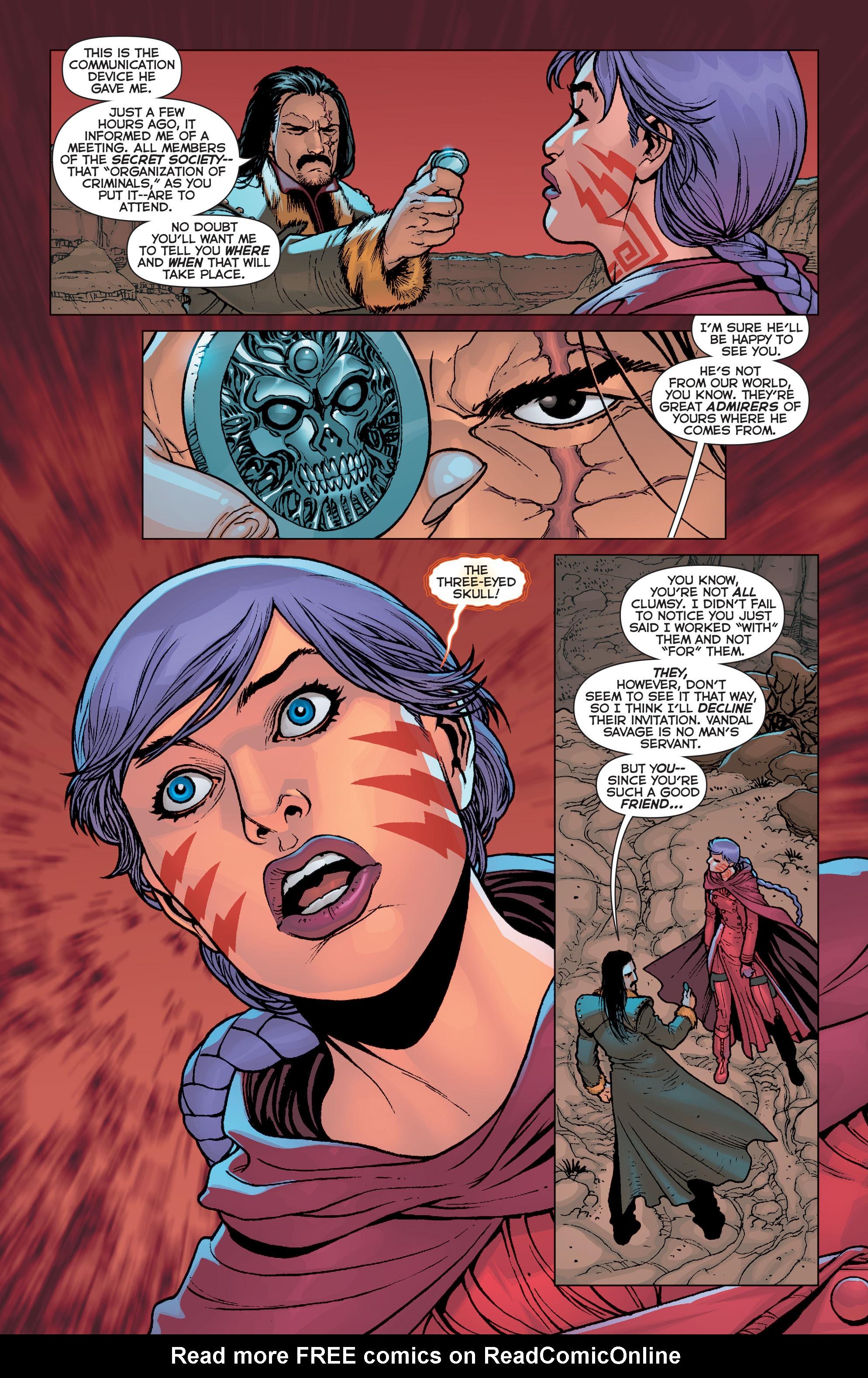 Read online Trinity of Sin: Pandora comic -  Issue #4 - 17