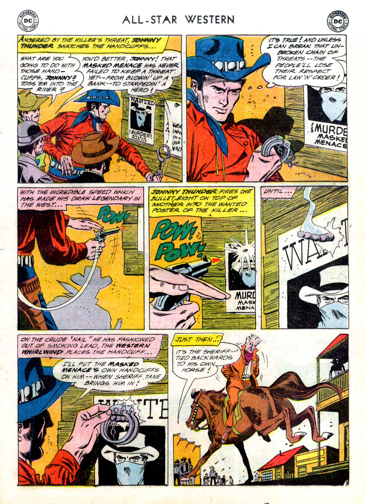 Read online All-Star Western (1951) comic -  Issue #116 - 5