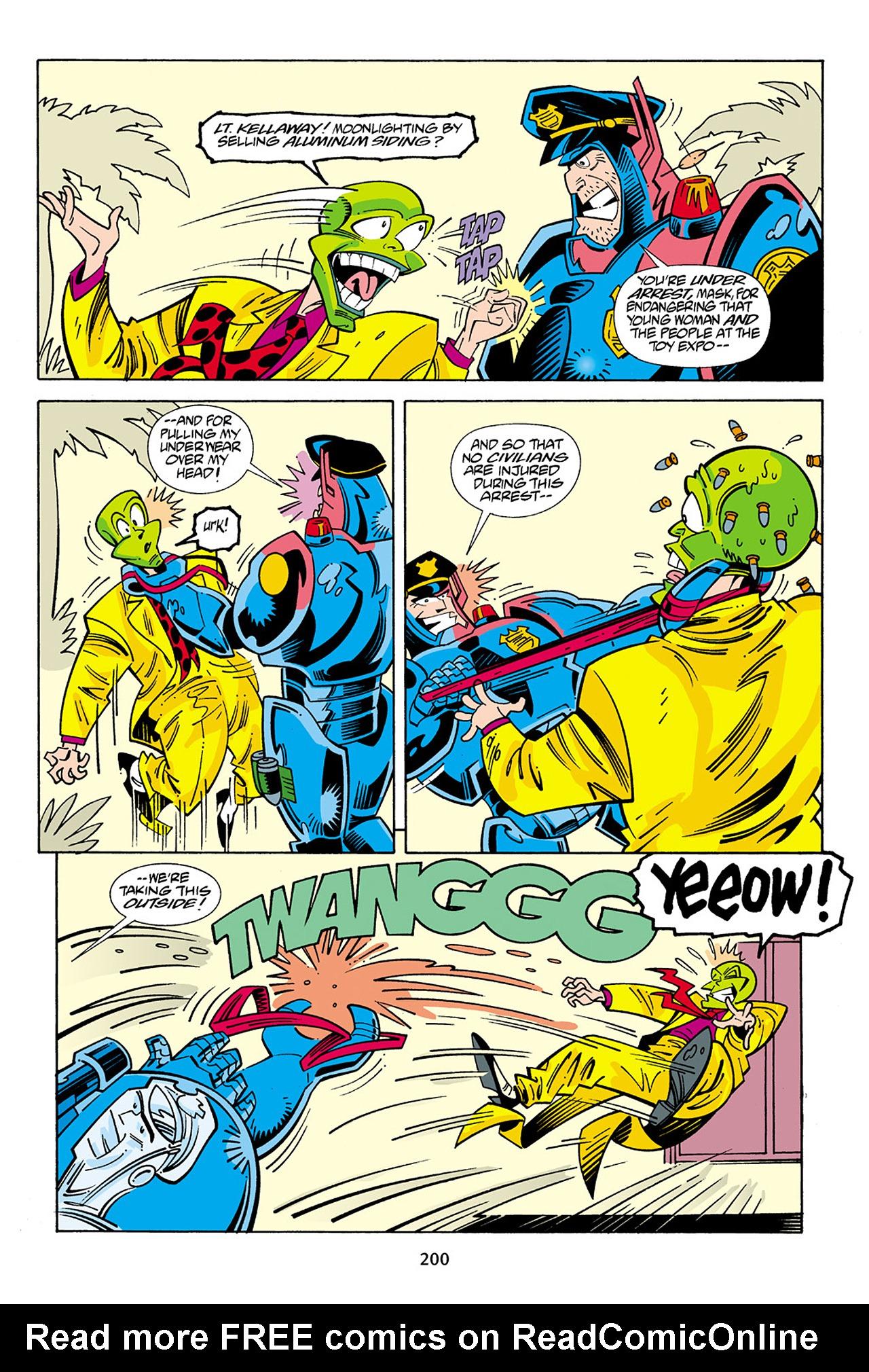 Read online Adventures Of The Mask Omnibus comic -  Issue #Adventures Of The Mask Omnibus Full - 199