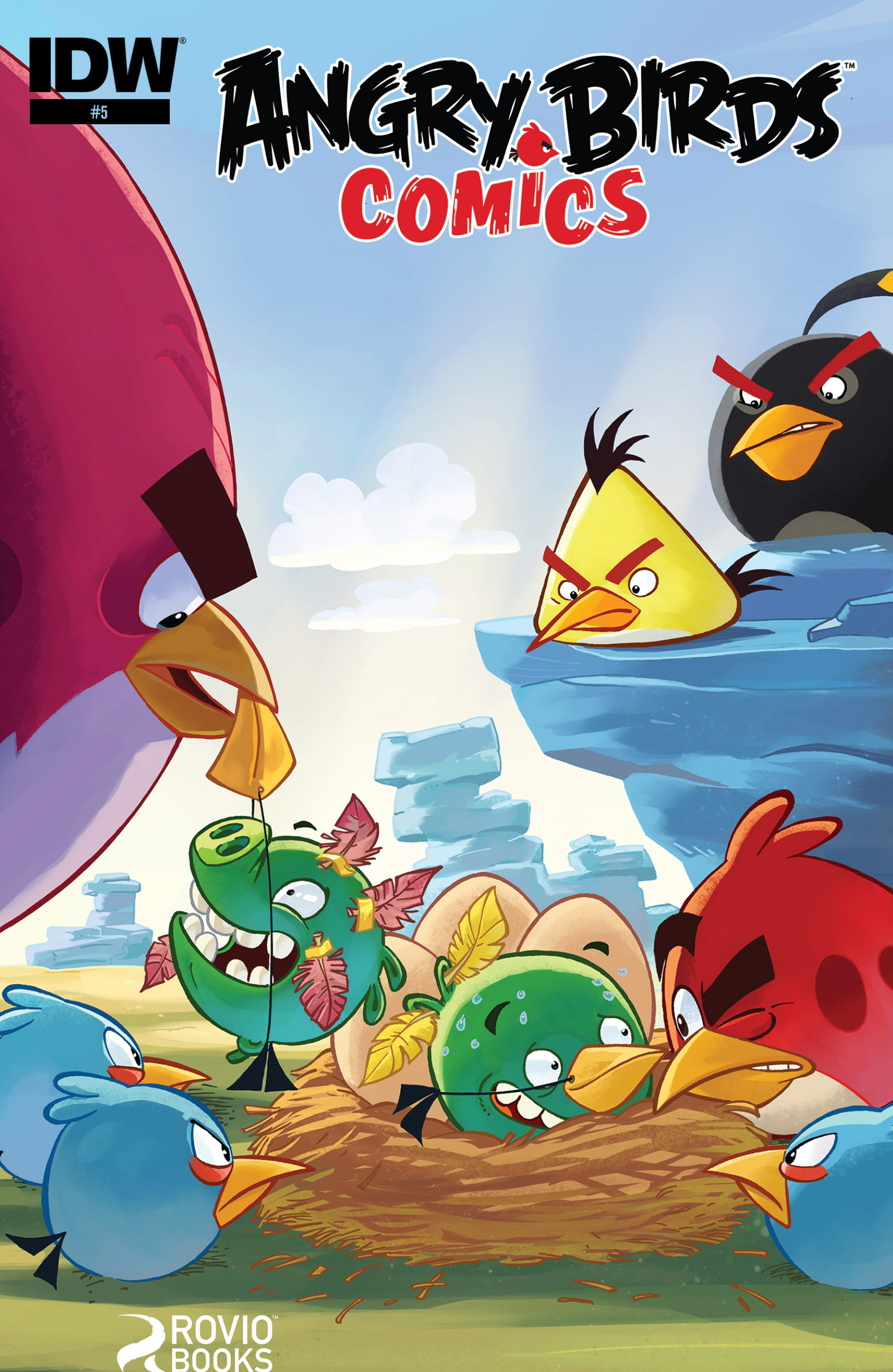 Read online Angry Birds Comics (2014) comic -  Issue #5 - 1