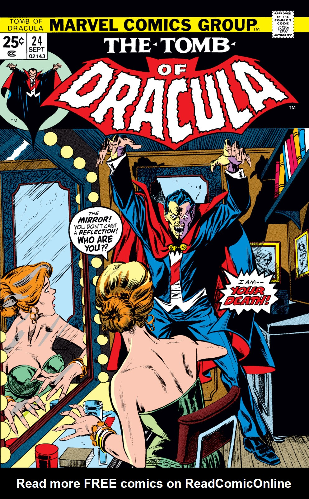 Tomb of Dracula (1972) issue 24 - Page 1