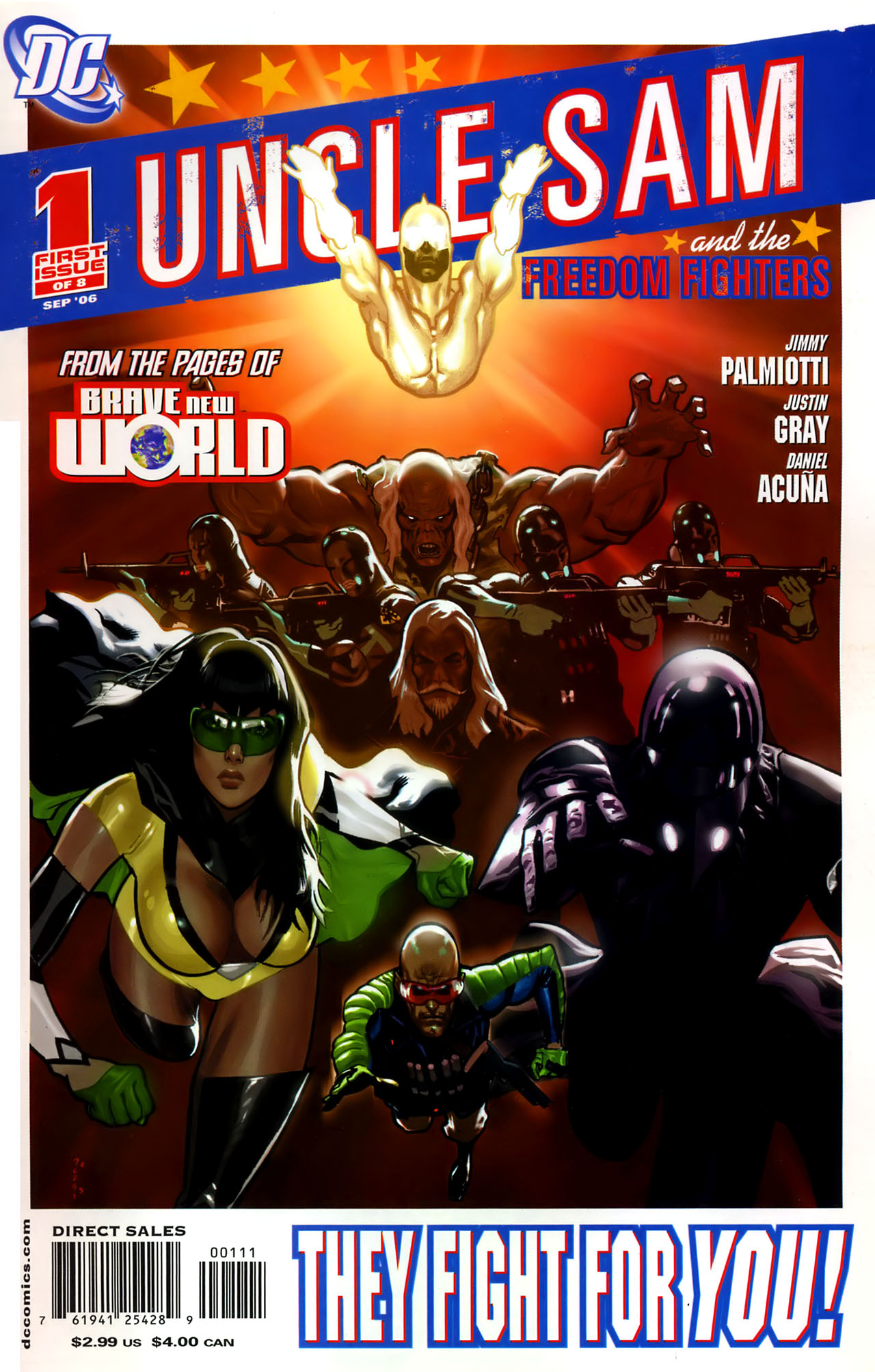Read online Uncle Sam and the Freedom Fighters (2006) comic -  Issue #1 - 1