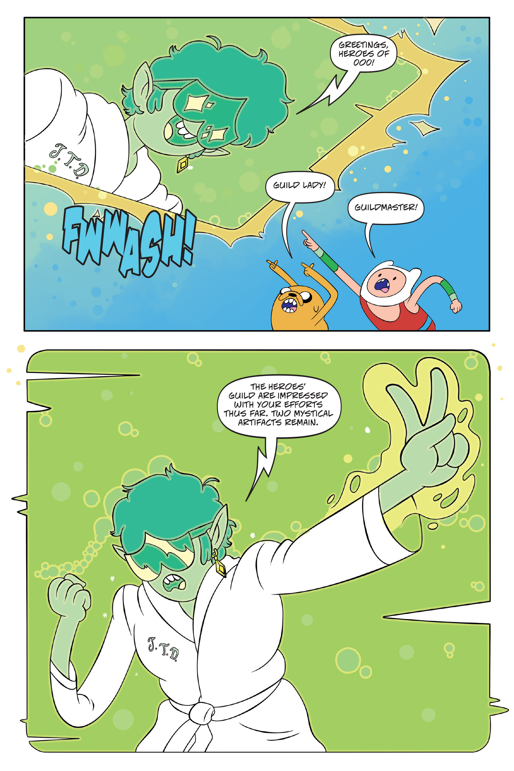 Read online Adventure Time comic -  Issue #Adventure Time _TPB 7 - 53