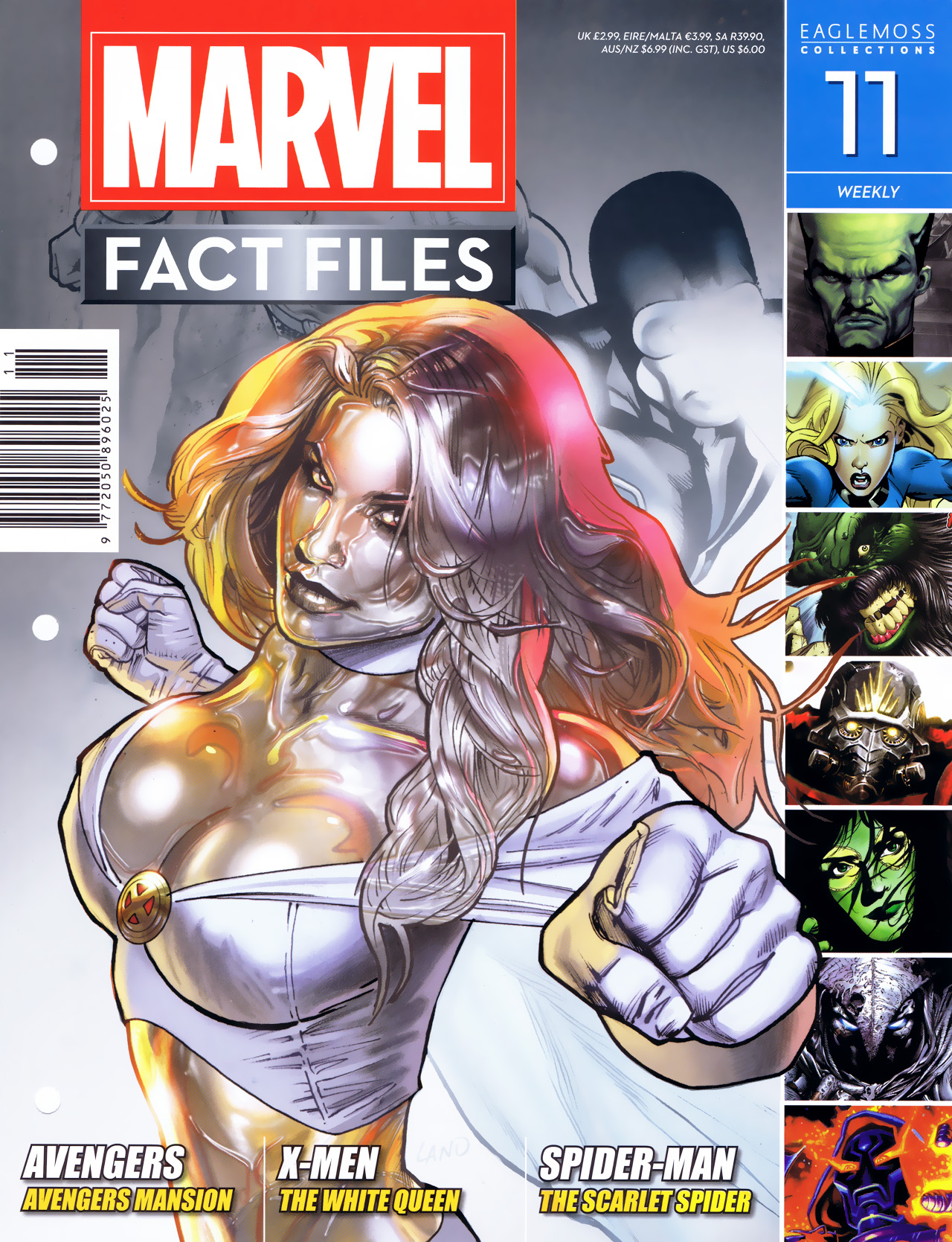 Marvel Fact Files 11 Page 1