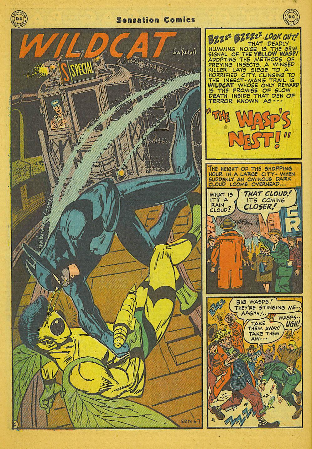 Read online Sensation (Mystery) Comics comic -  Issue #66 - 42