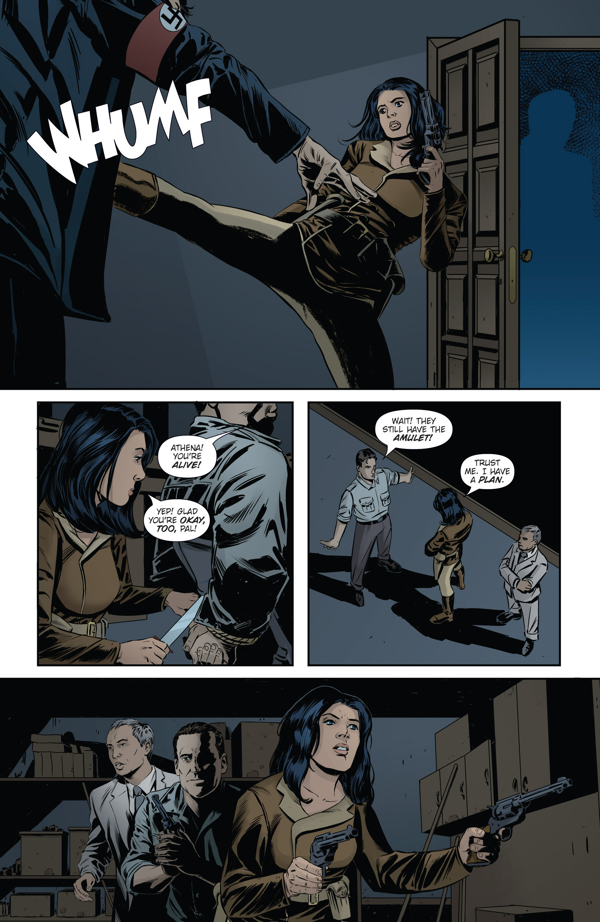 Read online Athena Voltaire and the Volcano Goddess comic -  Issue #3 - 14