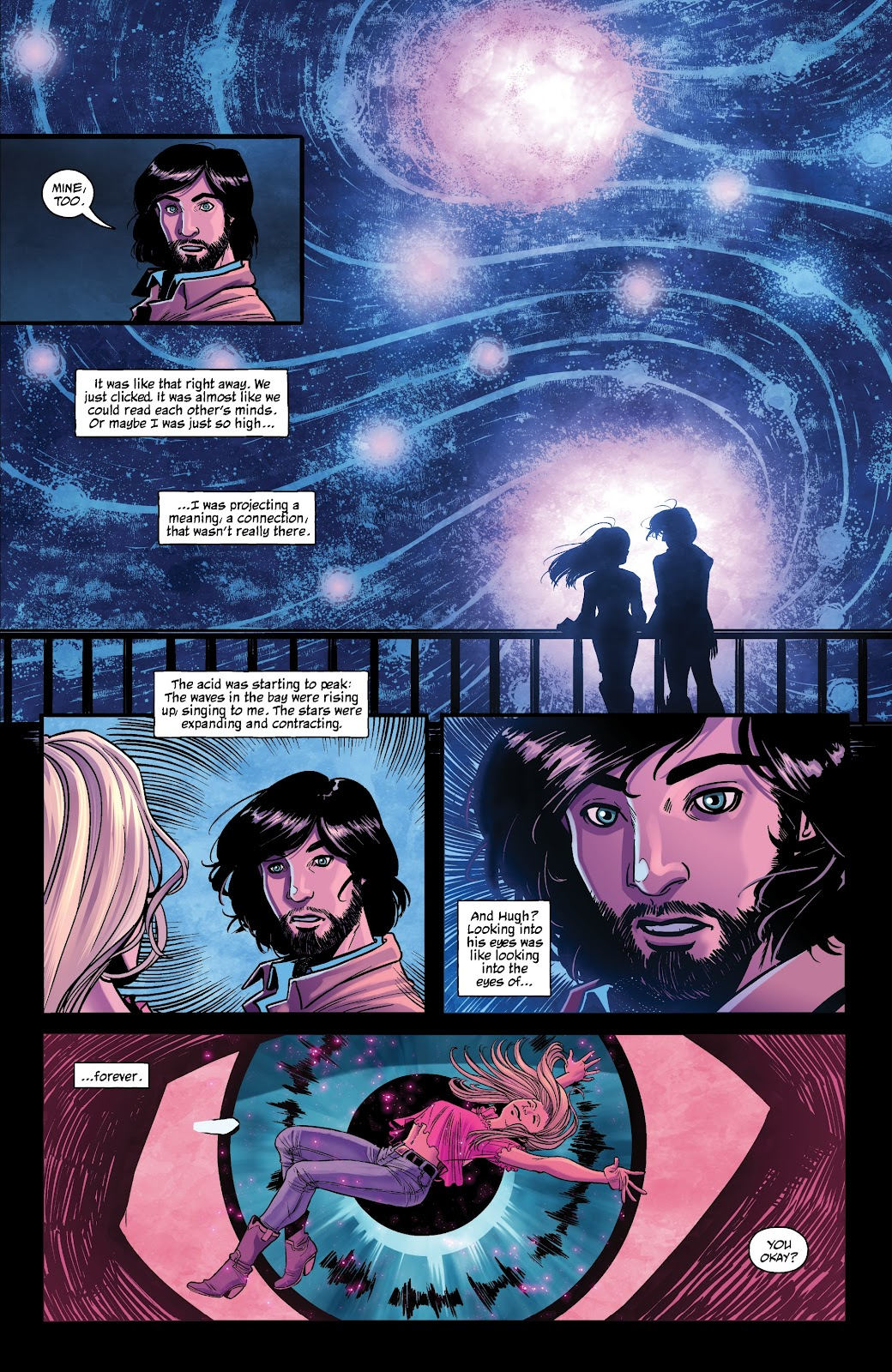 Read online The Girl In The Bay comic -  Issue #1 - 9