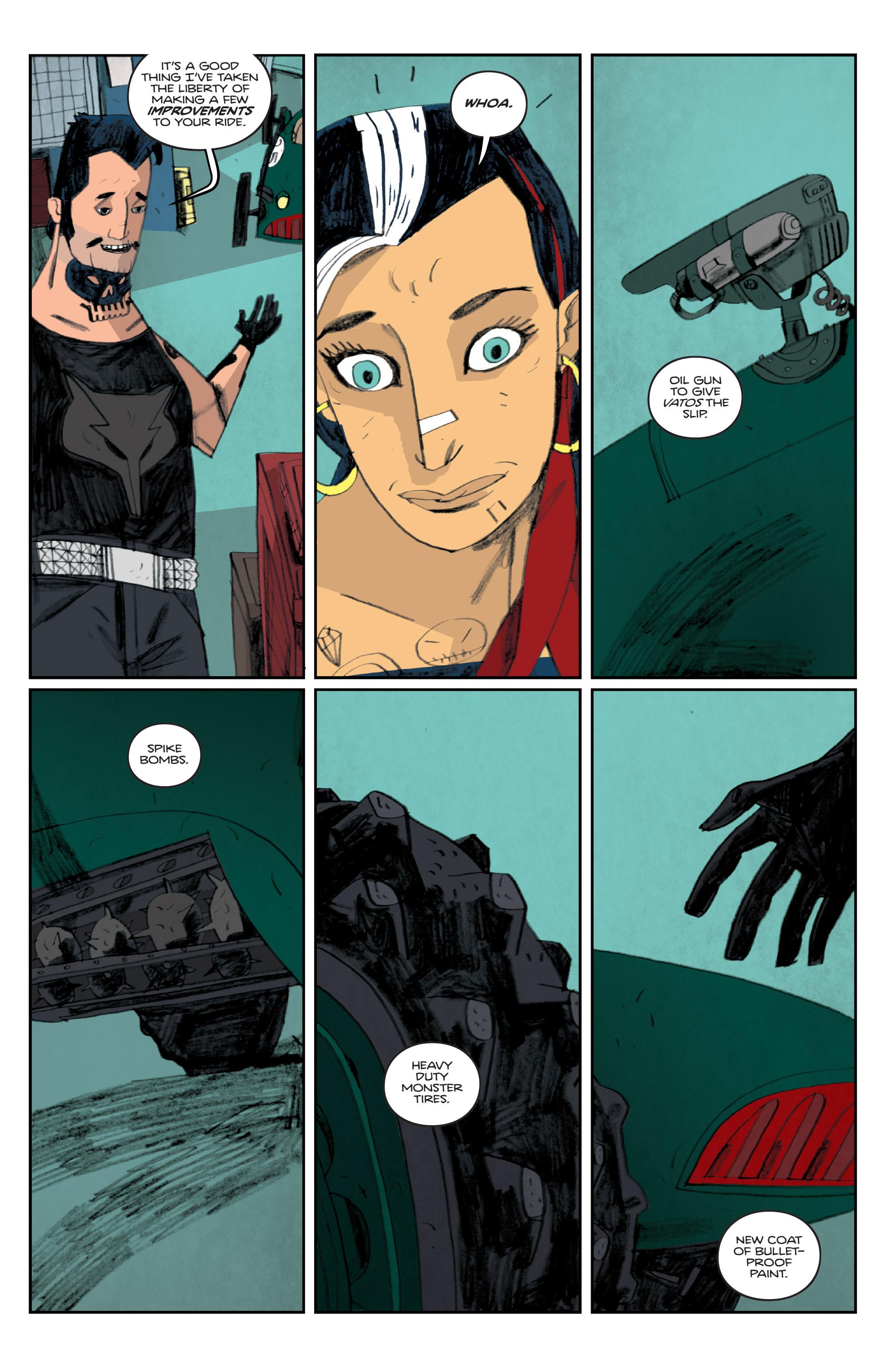 Read online Helena Crash comic -  Issue #4 - 8