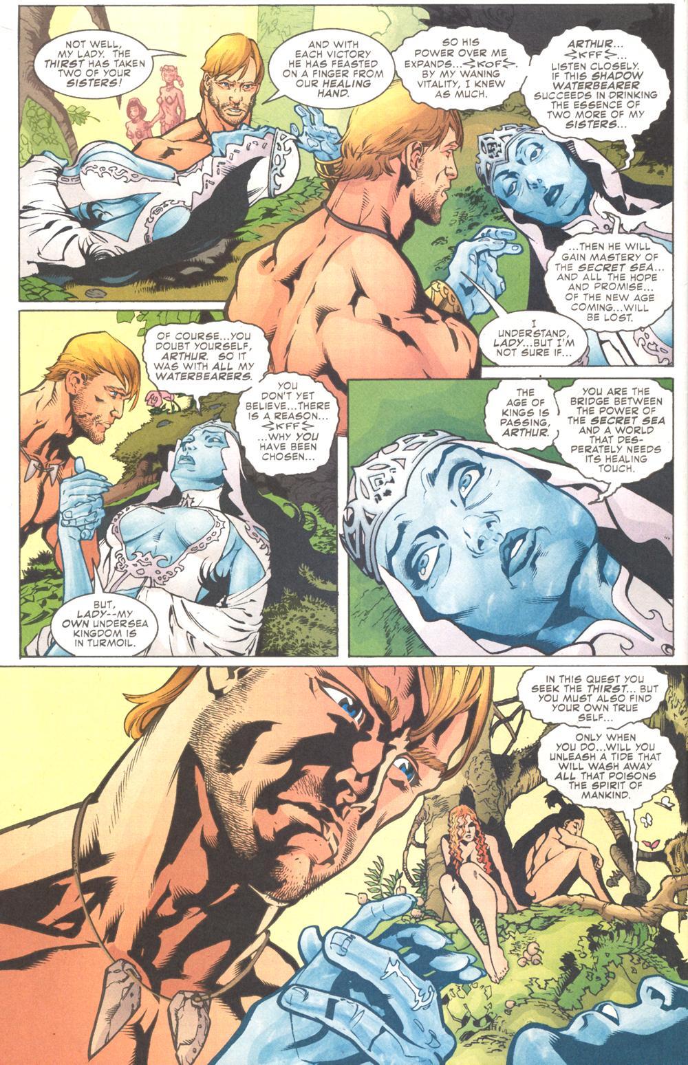 Read online Aquaman (2003) comic -  Issue #9 - 9