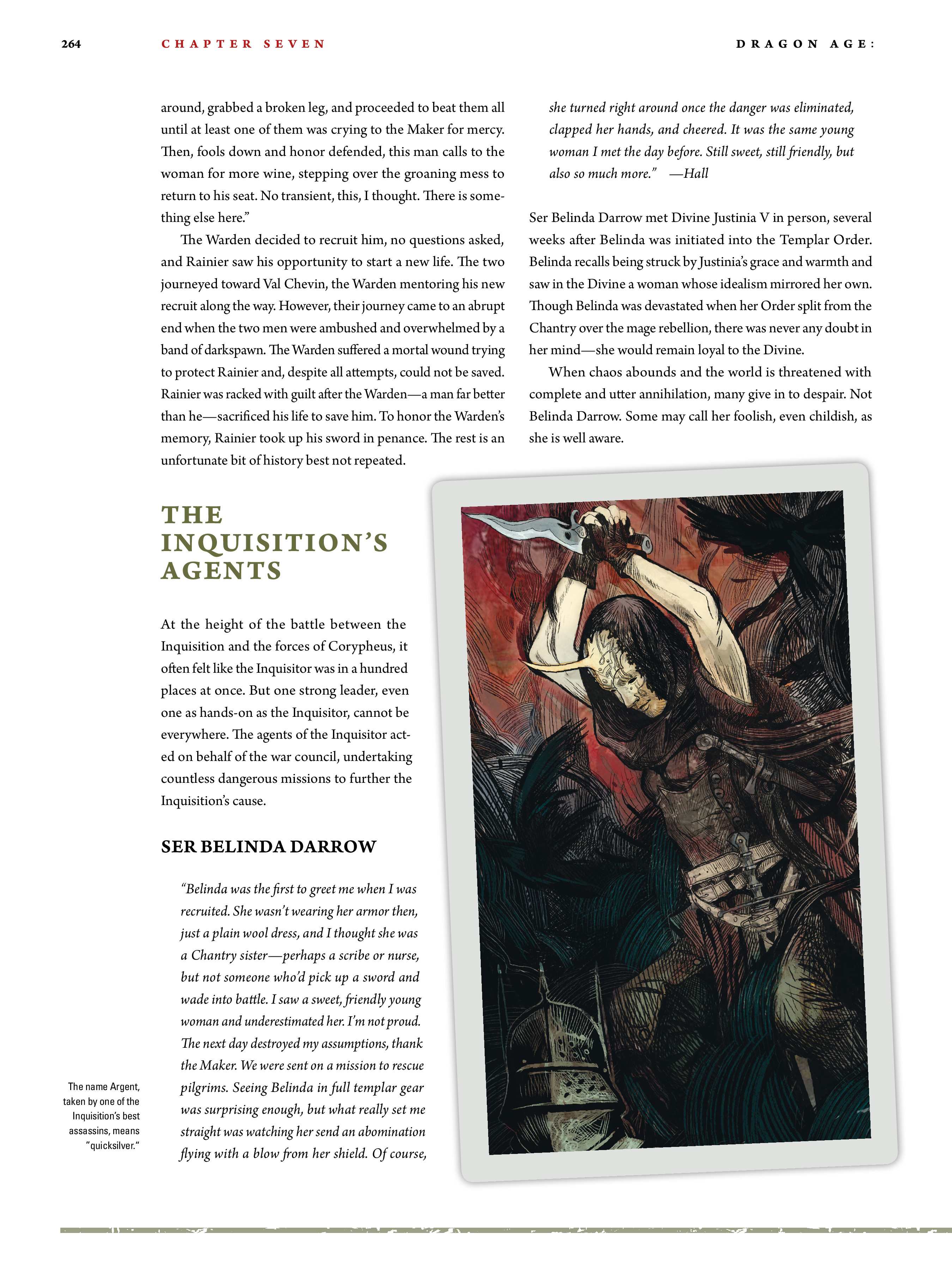 Read online Dragon Age: The World of Thedas comic -  Issue # TPB 2 - 257