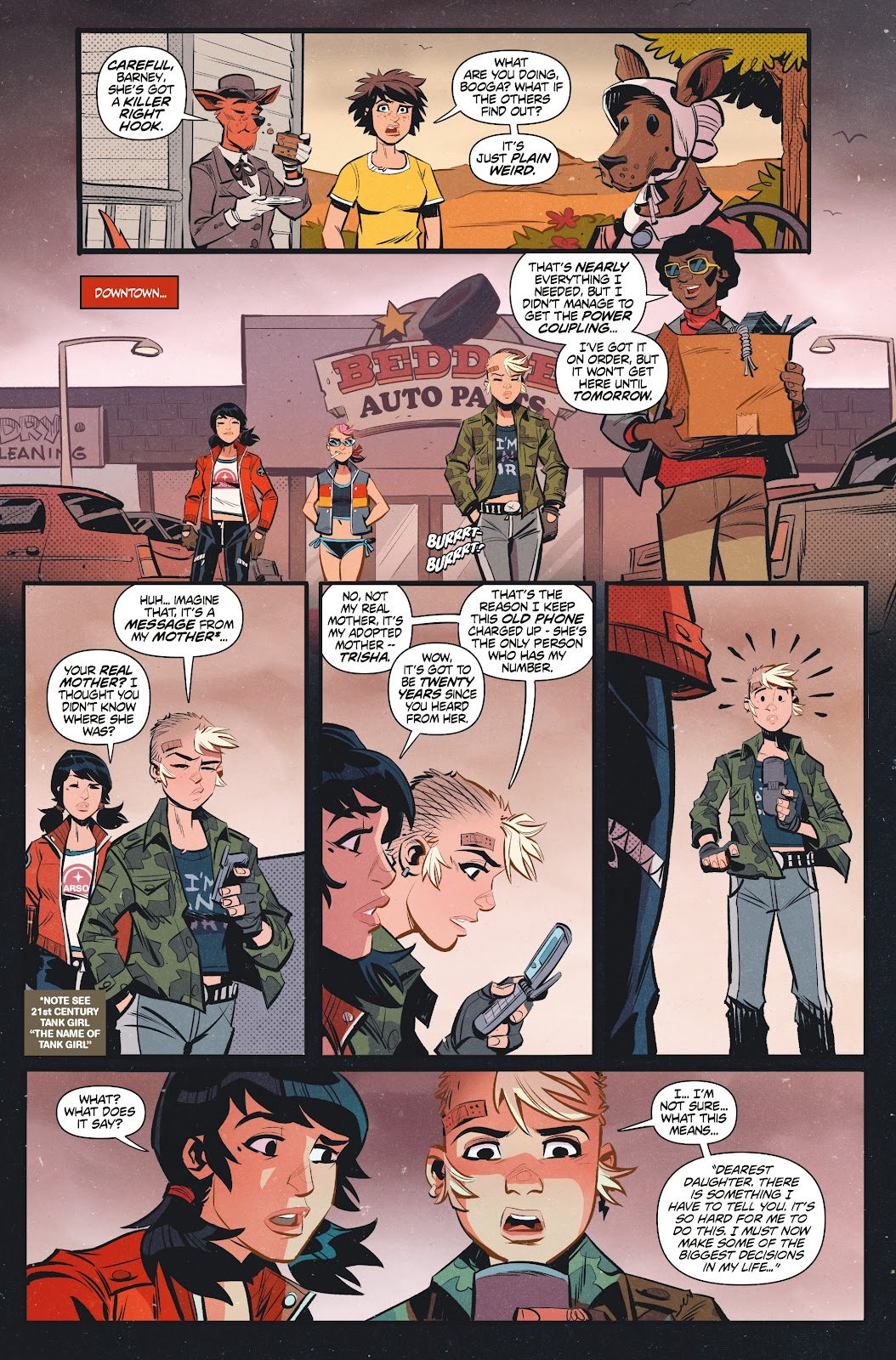 Read online Tank Girl Ongoing comic -  Issue #1 - 18