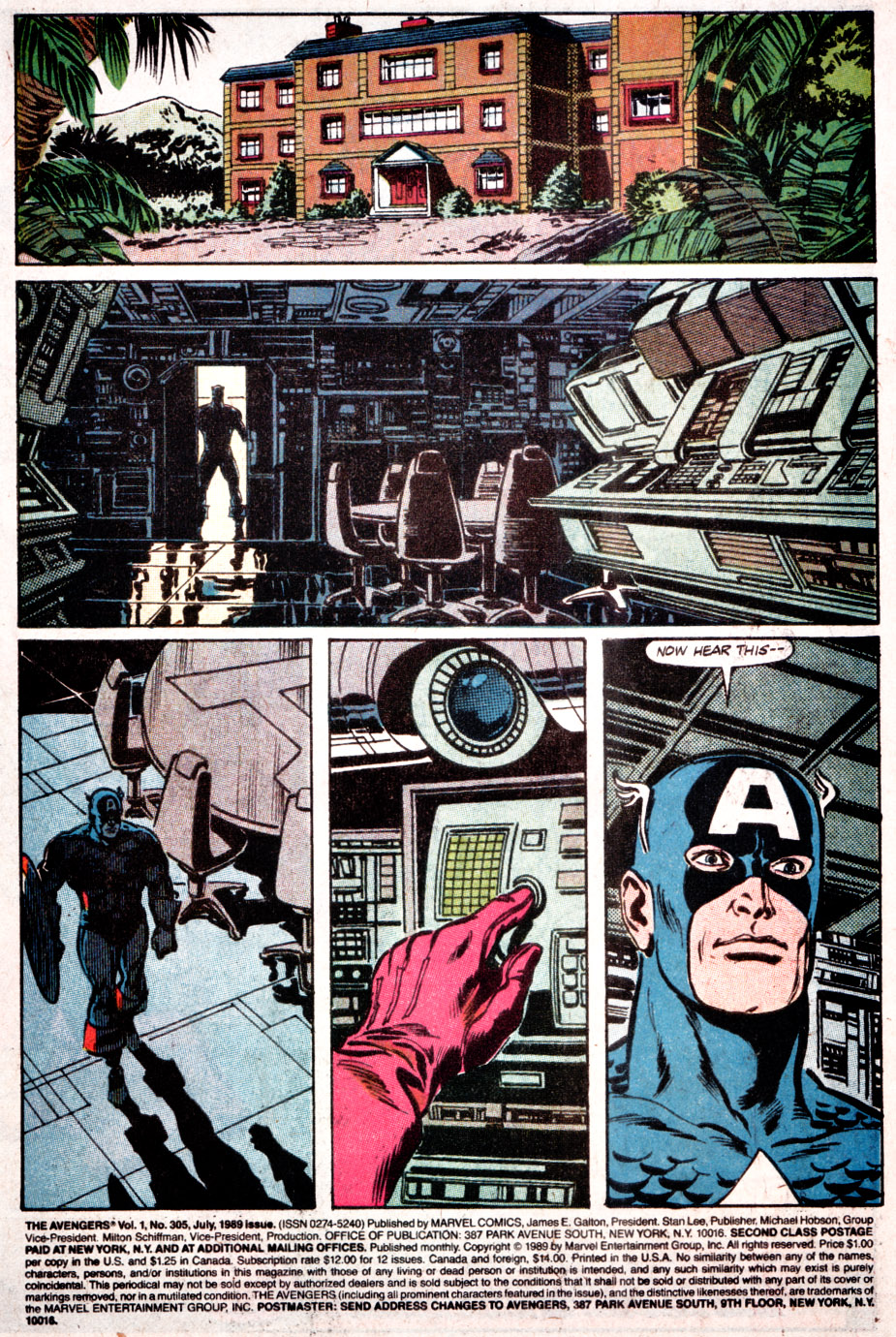 The Avengers (1963) 305 Page 1
