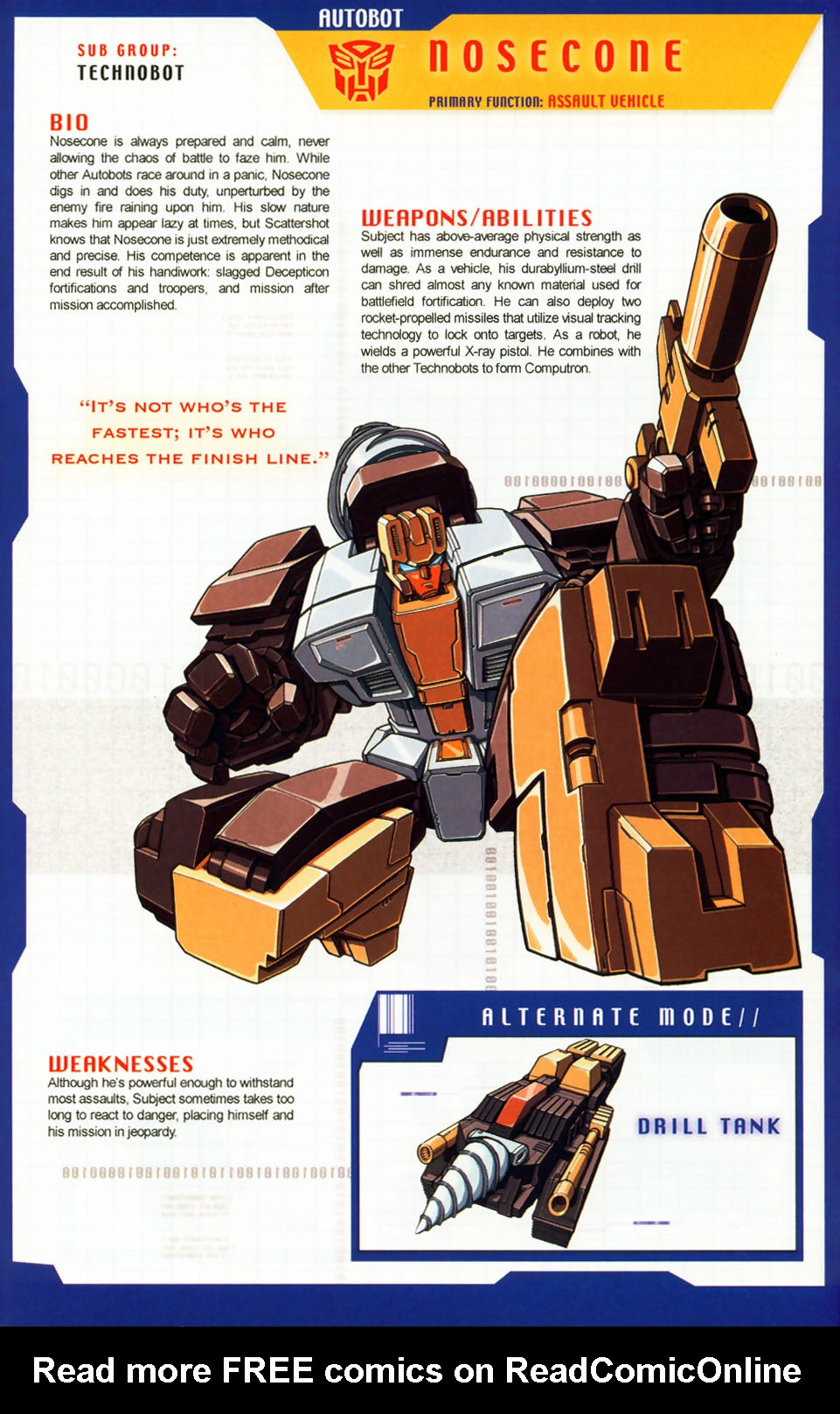 Read online Transformers: More than Meets the Eye comic -  Issue #7 - 7