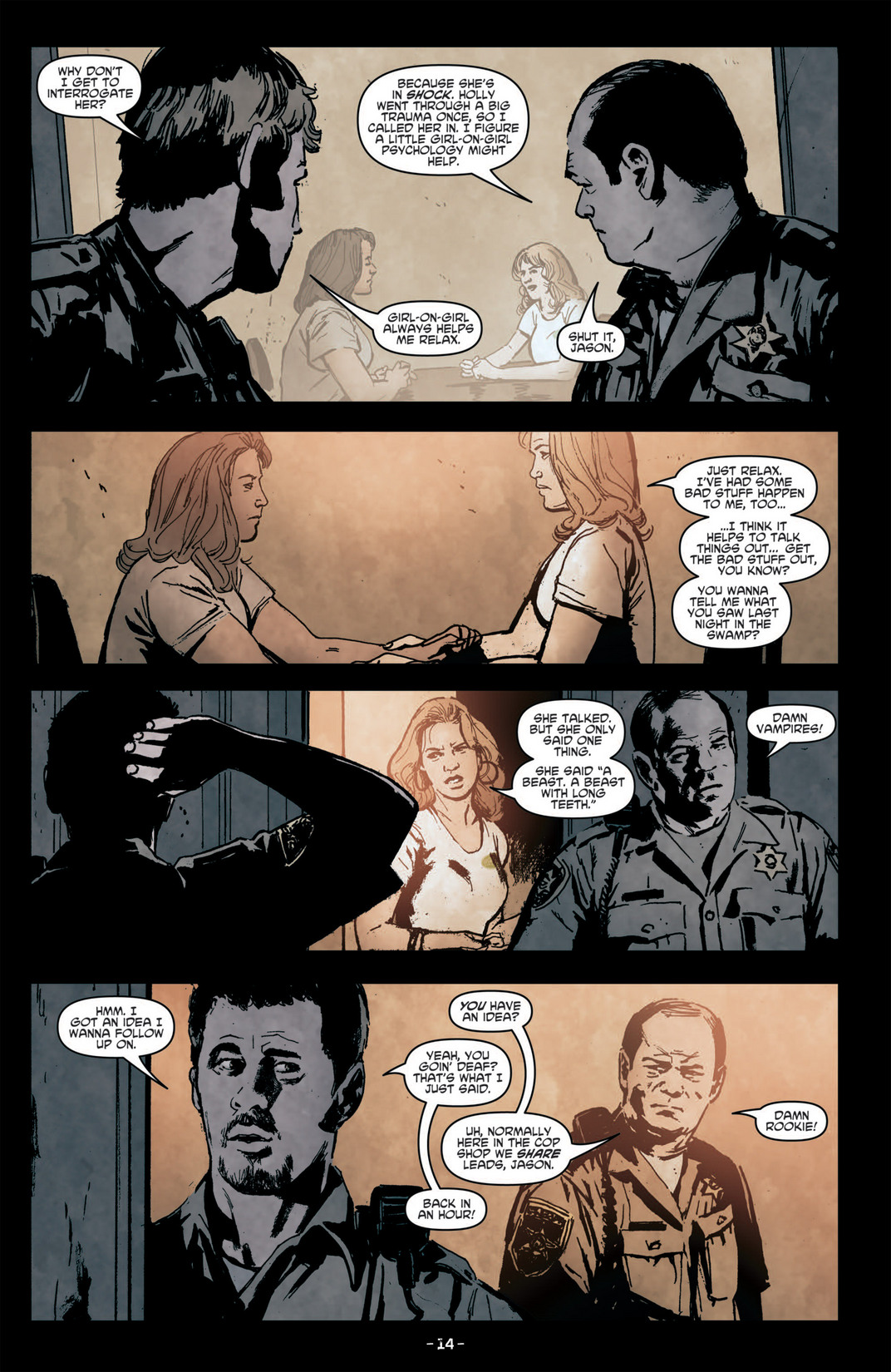 Read online True Blood (2012) comic -  Issue #6 - 16